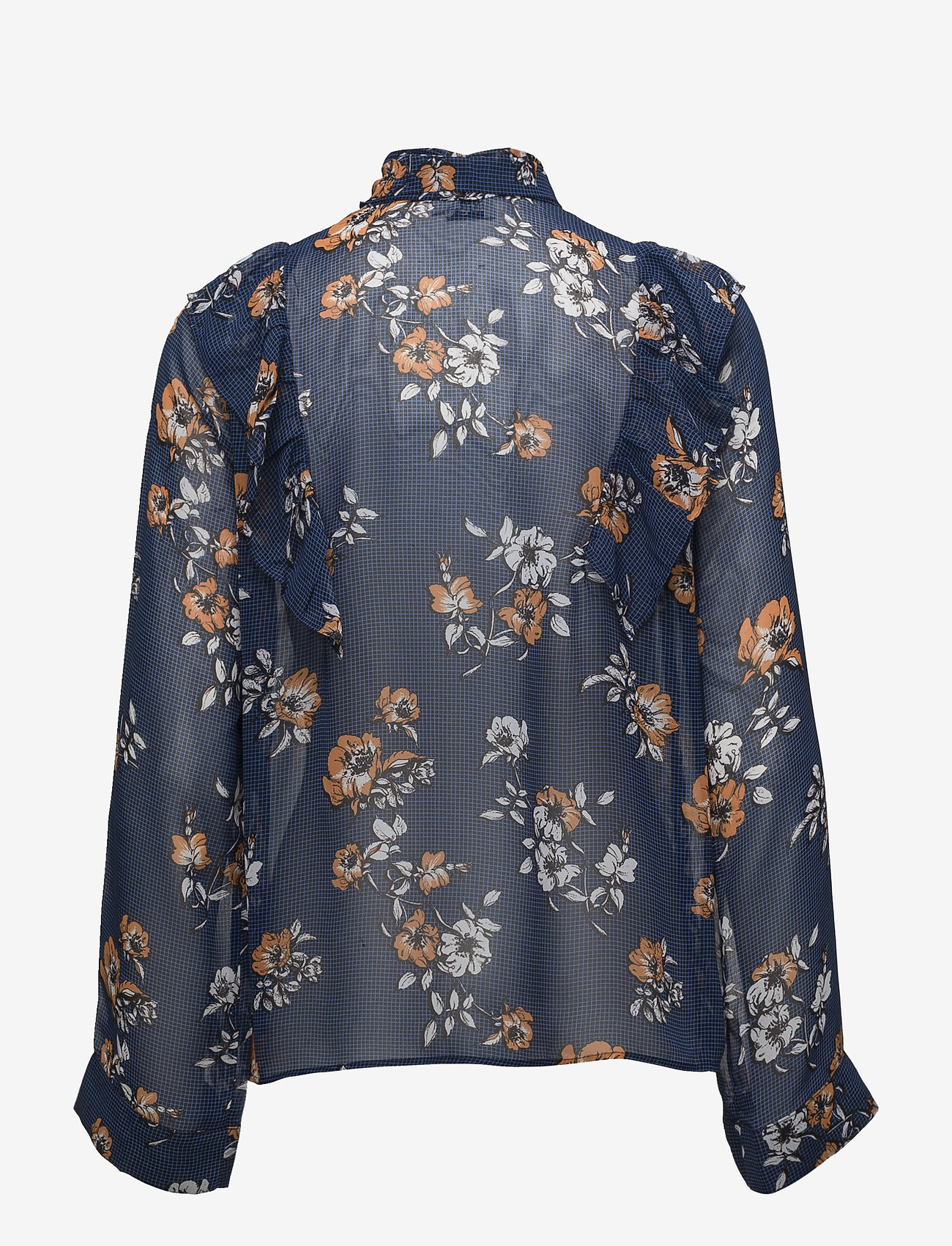 Twist & Tango - Diana Blouse - long sleeved blouses - blue