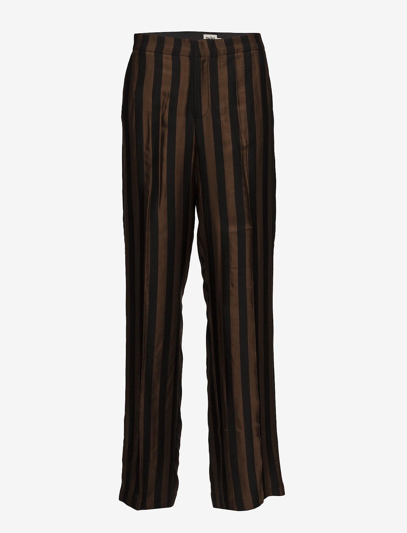 Twist & Tango - Erika Trousers - pantalons larges - brown