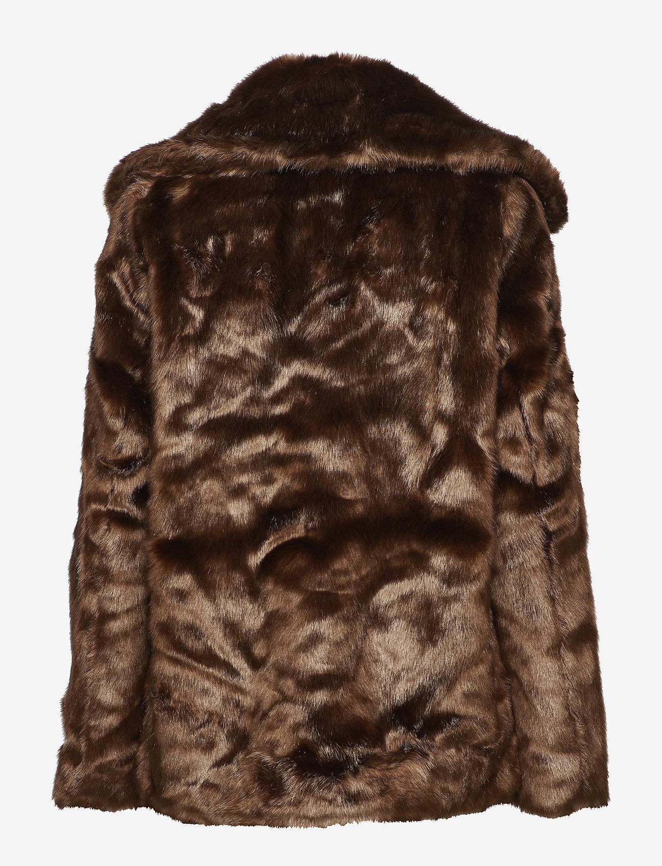 Twist & Tango - Grace Faux Fur Jacket - fausse fourrure - brown