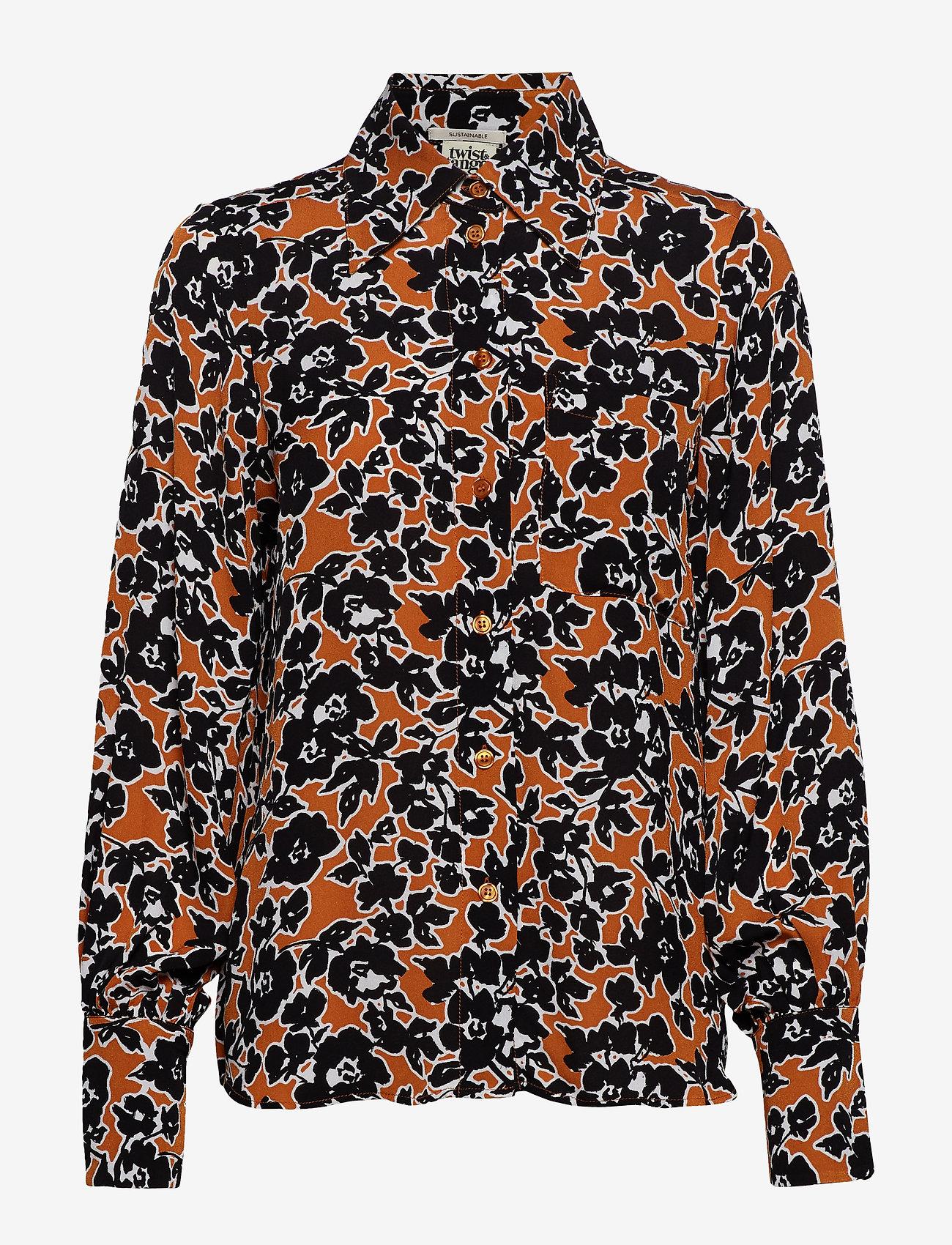 Twist & Tango - My Shirt - långärmade blusar - golden flower - 1