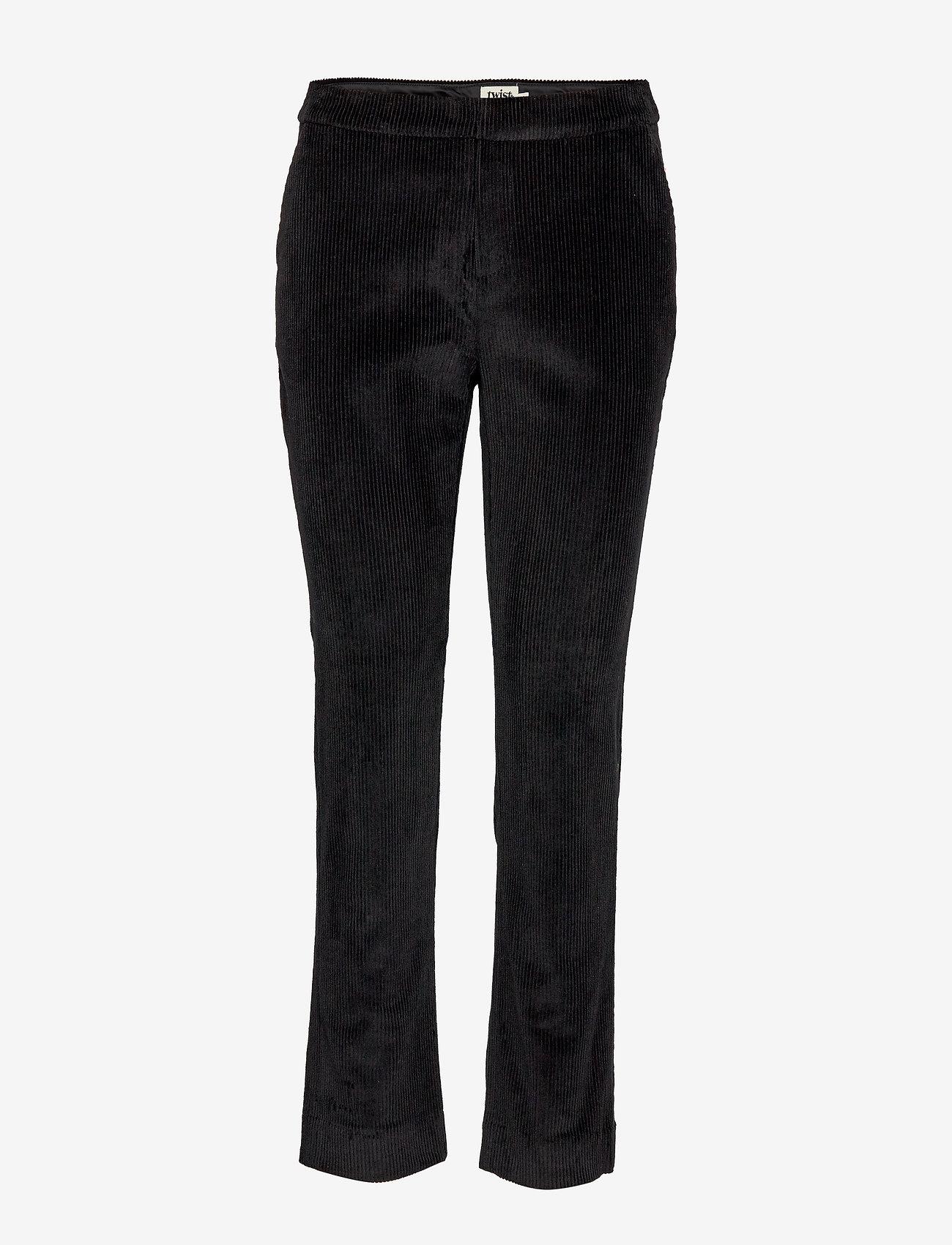 Twist & Tango - Lilly Cord Trousers - pantalons droits - black - 0