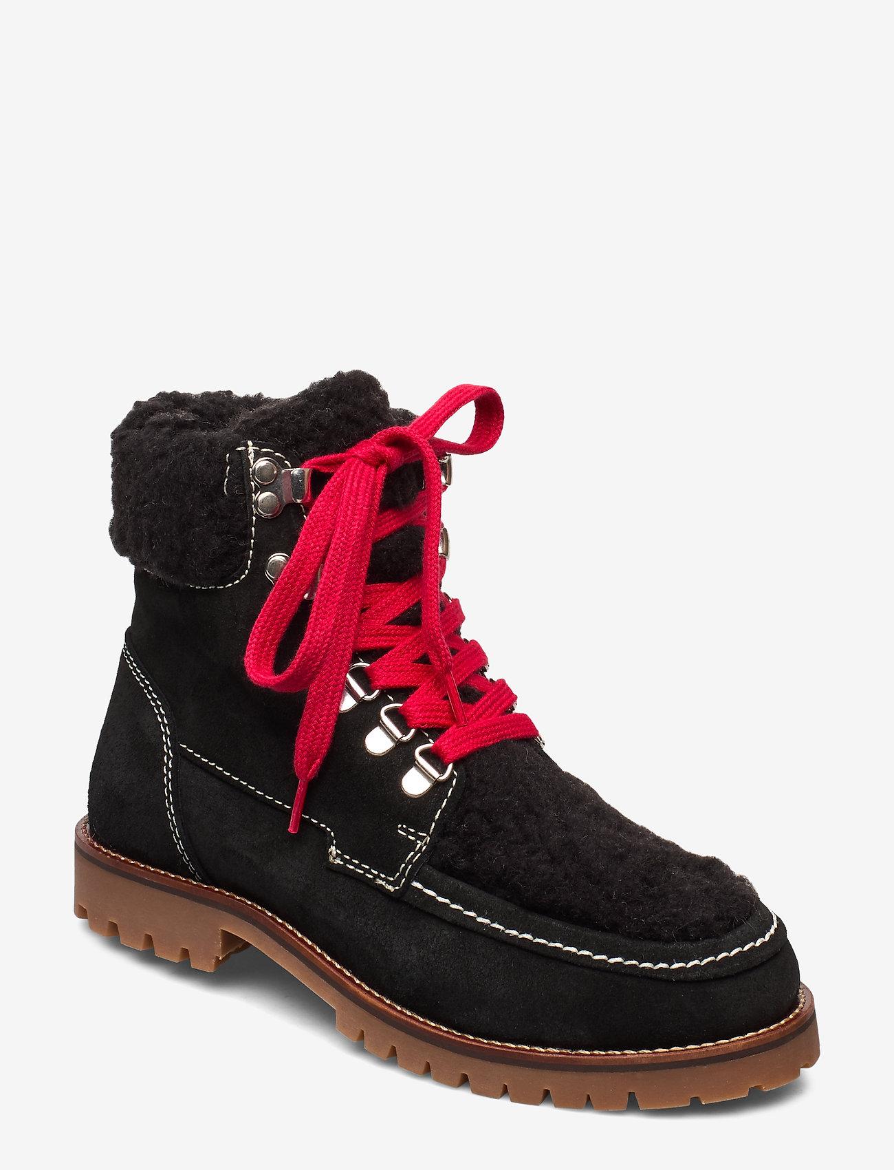 Twist & Tango - Valenza Boots - flade ankelstøvler - black - 0