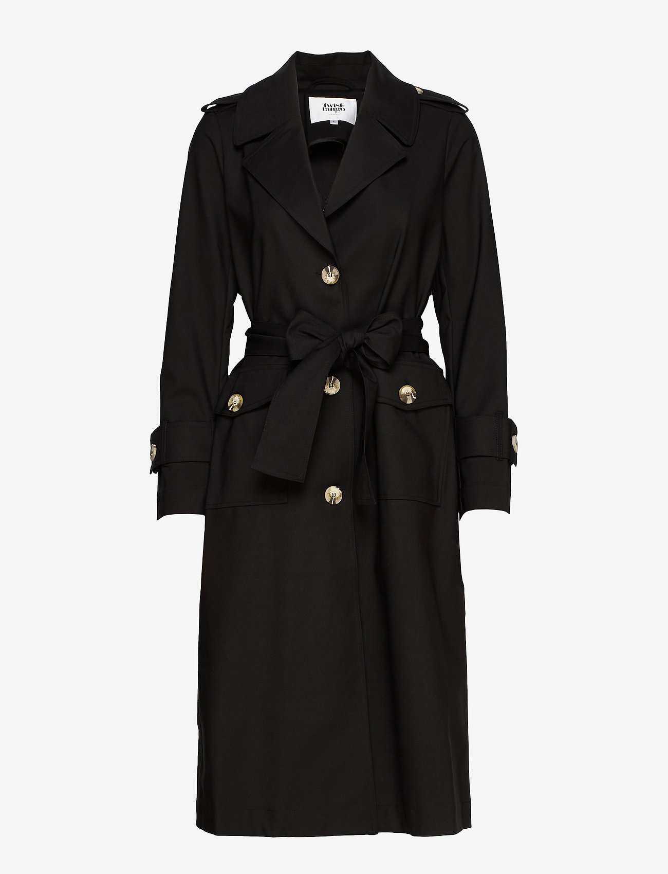 Twist & Tango - Eve Trenchcoat - trenchcoats - black - 1