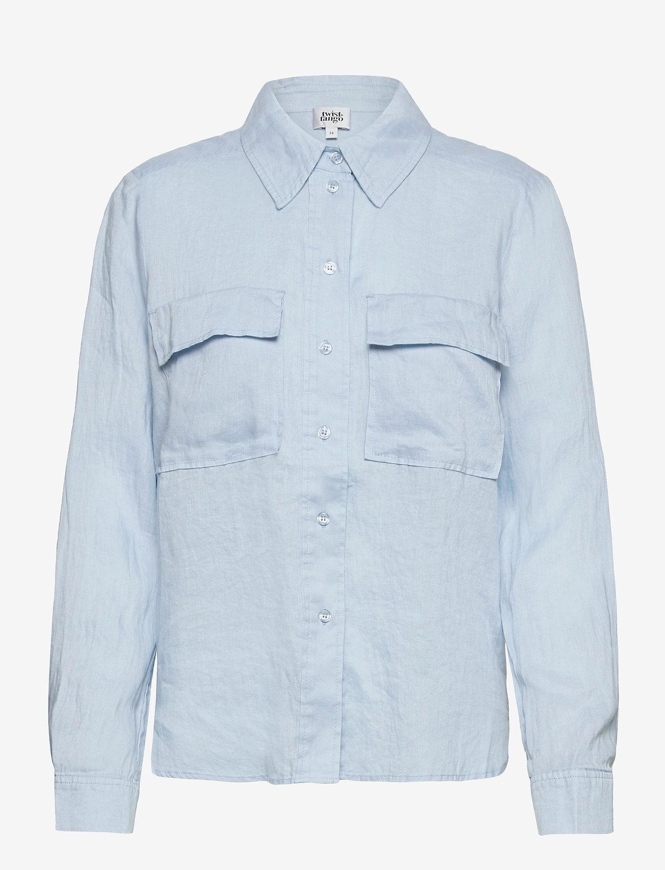 Twist & Tango - Jonna Shirt - långärmade skjortor - light blue - 0