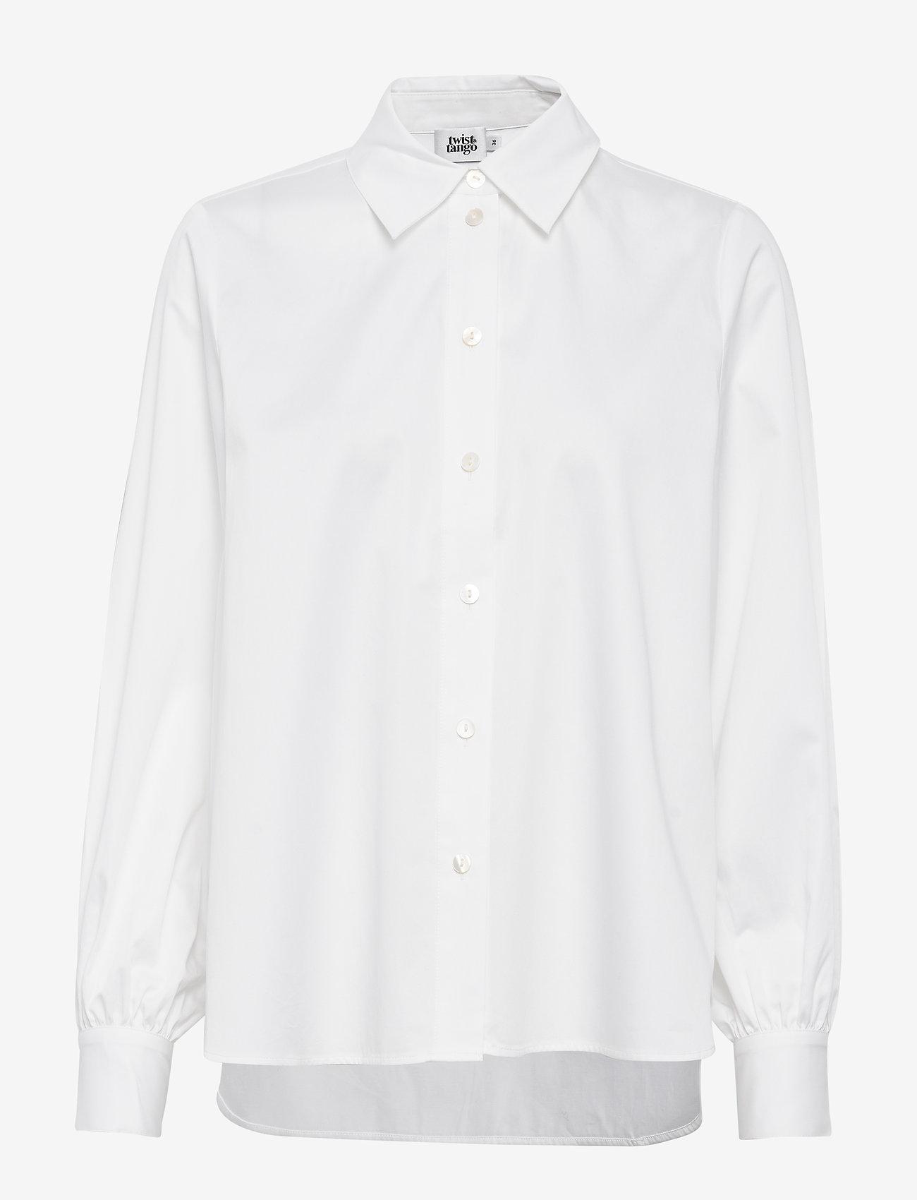 Twist & Tango - Sophie Shirt - långärmade skjortor - white - 0
