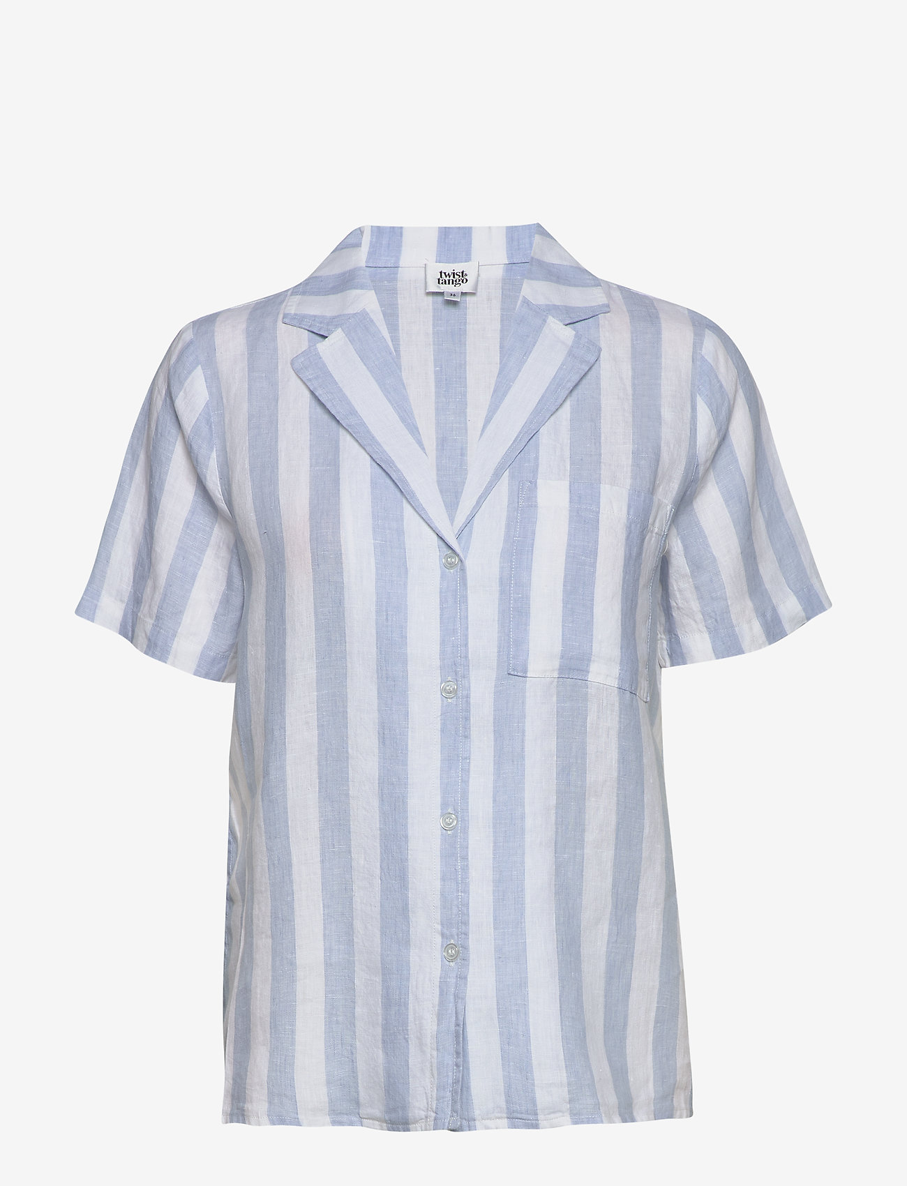 Twist & Tango - Brooke Shirt - chemises à manches courtes - light blue - 1