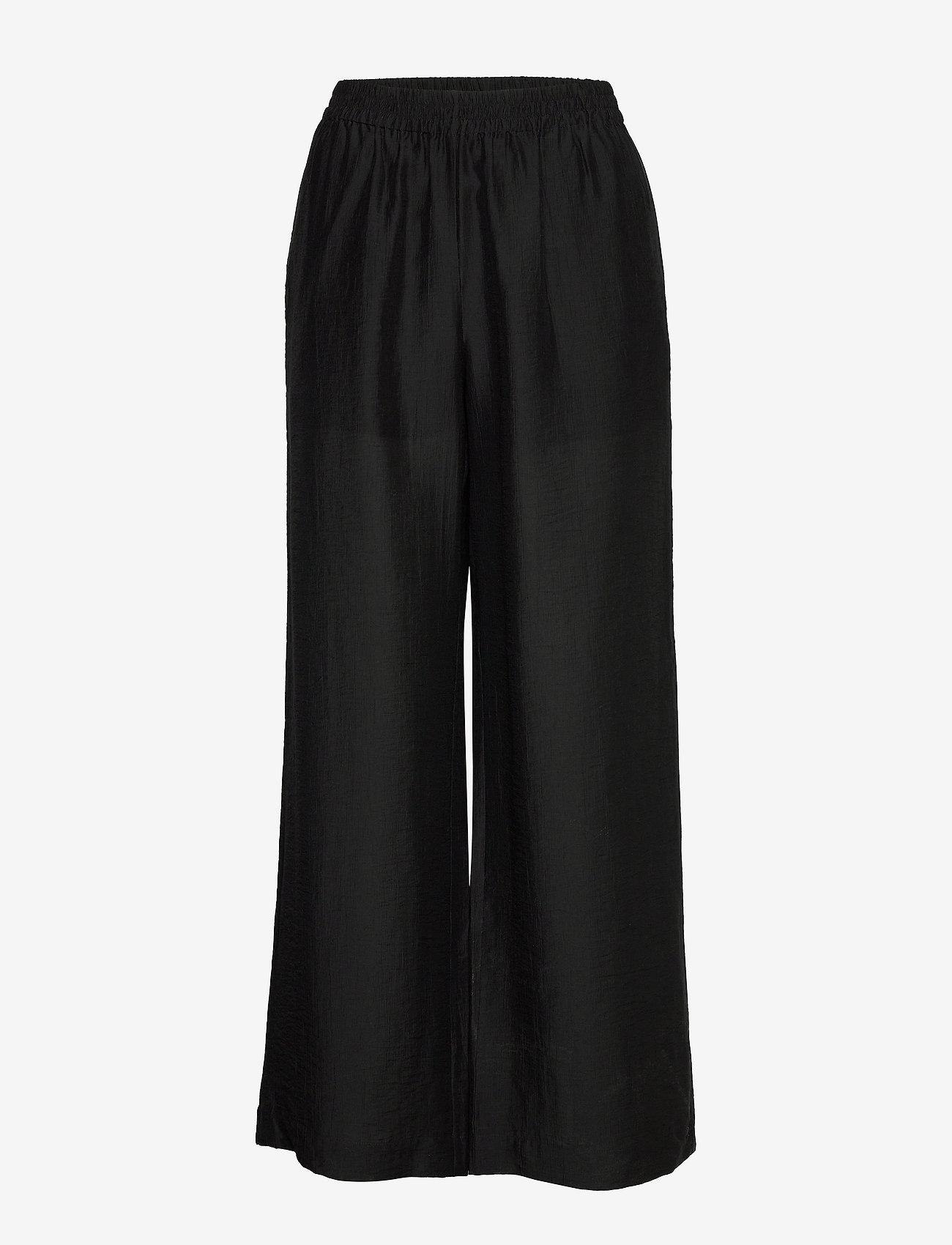 Twist & Tango - Franny Trousers - bukser med brede ben - black - 1