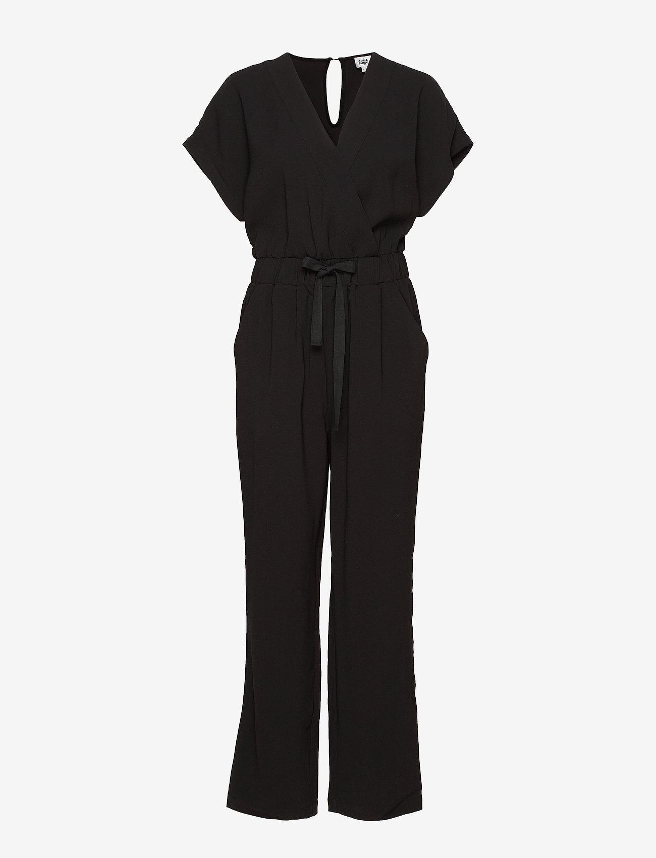 Twist & Tango - Minna Long Jumpsuit - kombinezony - black - 0