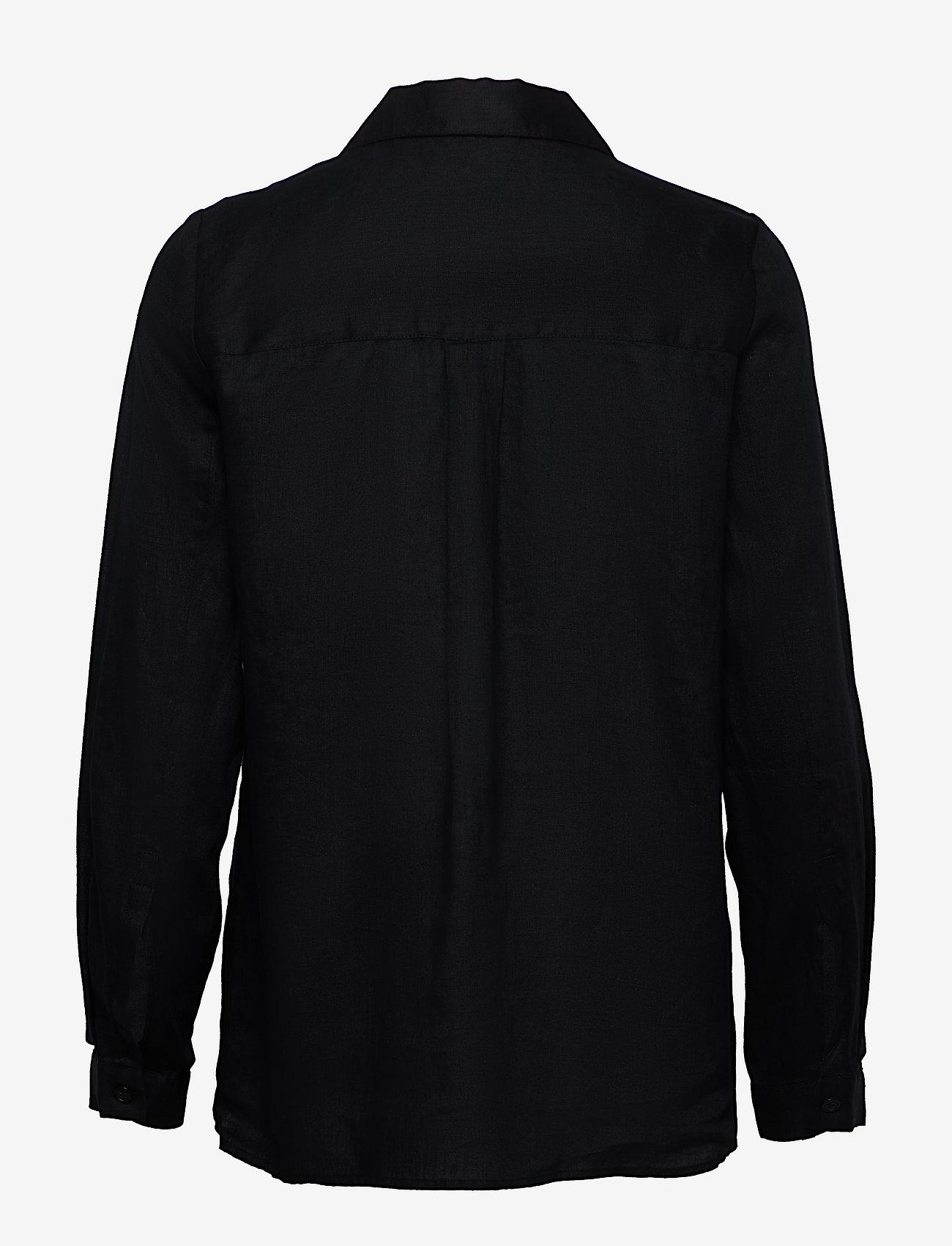Twist & Tango - Jaden Shirt - långärmade skjortor - black - 1