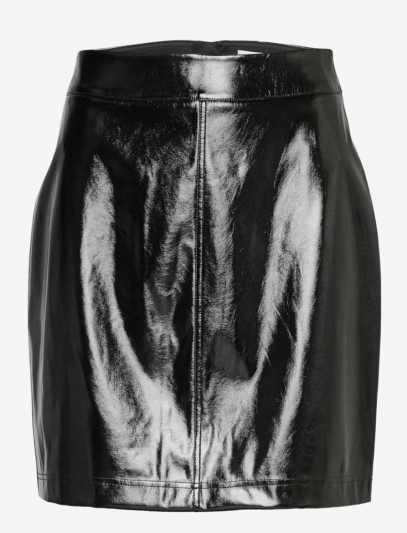 Twist & Tango - Becky Patent Skirt - pennkjolar - black - 0