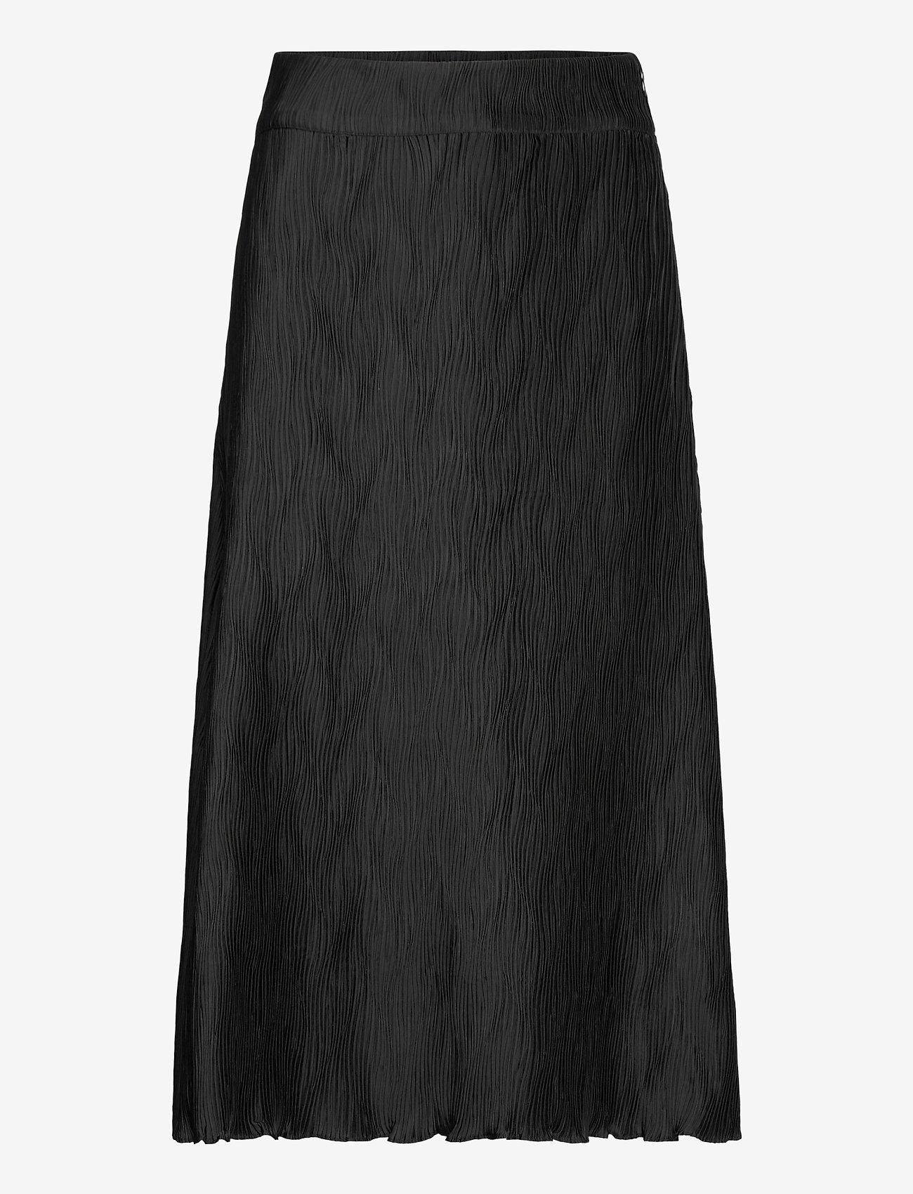 Twist & Tango - Ella Wave Skirt - maxikjolar - black - 0
