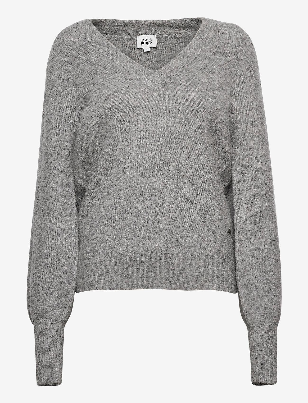 Twist & Tango - Valeria Sweater - tröjor - grey melange - 0