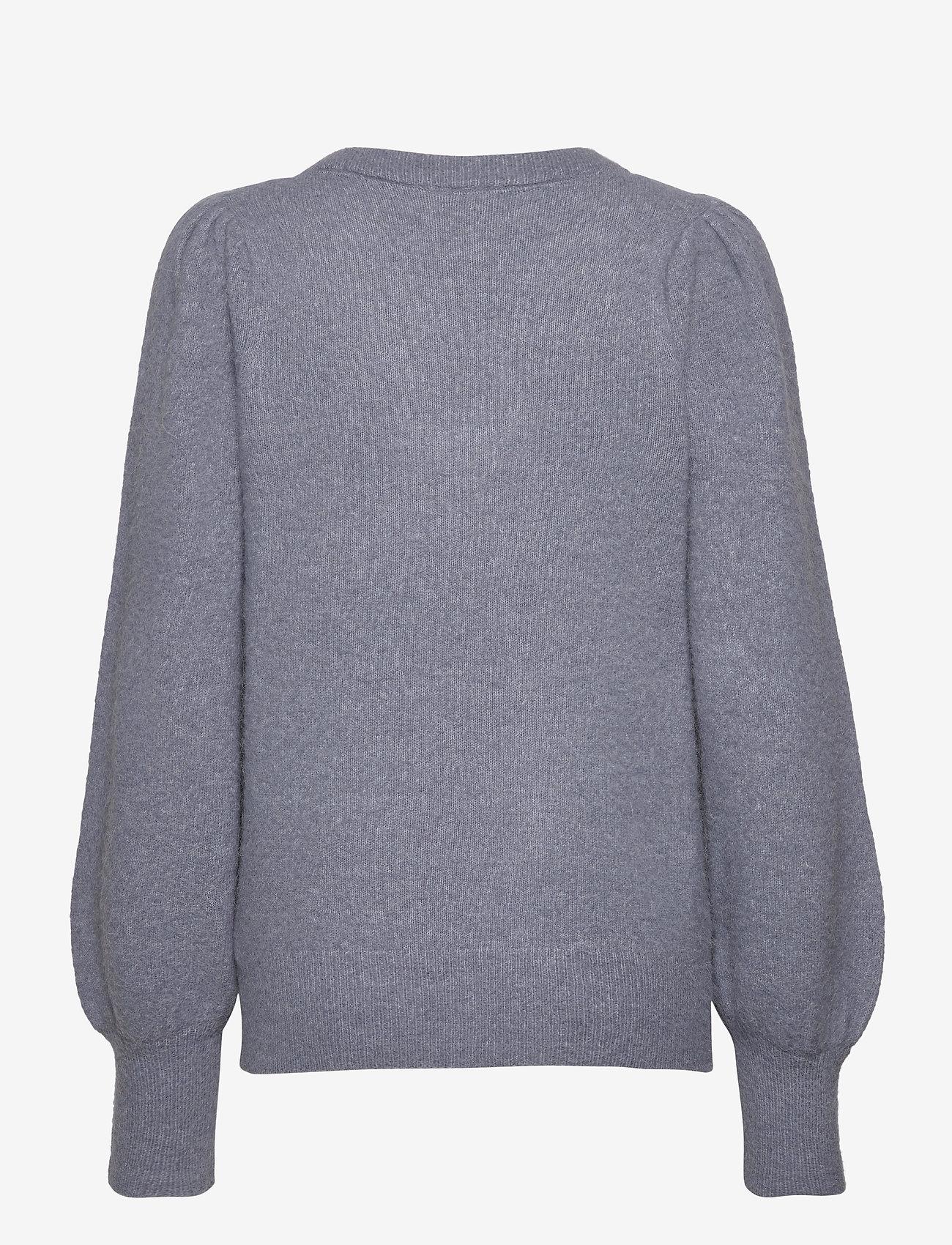 Twist & Tango - Valeria Sweater - tröjor - slate blue - 1