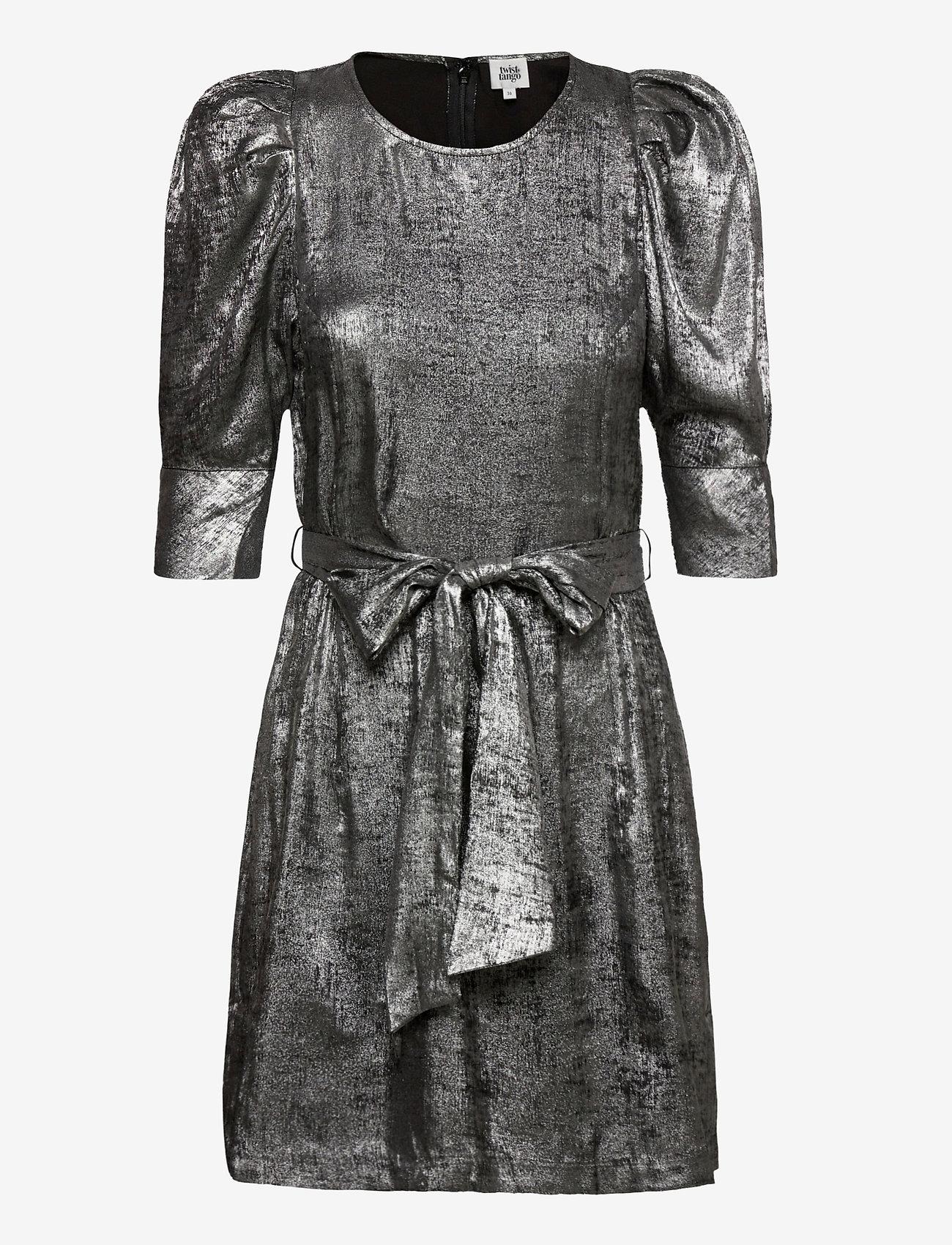 Twist & Tango - Edie Dress Silver - cocktailklänningar - metallic - 0