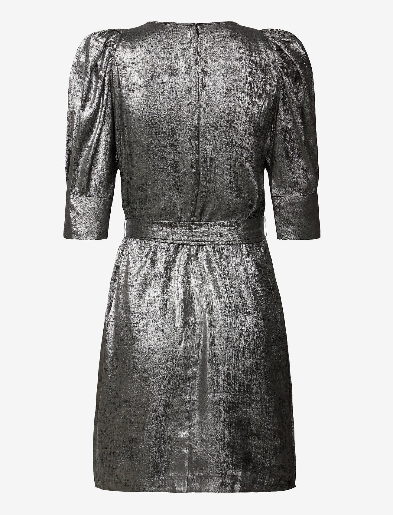 Twist & Tango - Edie Dress Silver - cocktailklänningar - metallic - 1