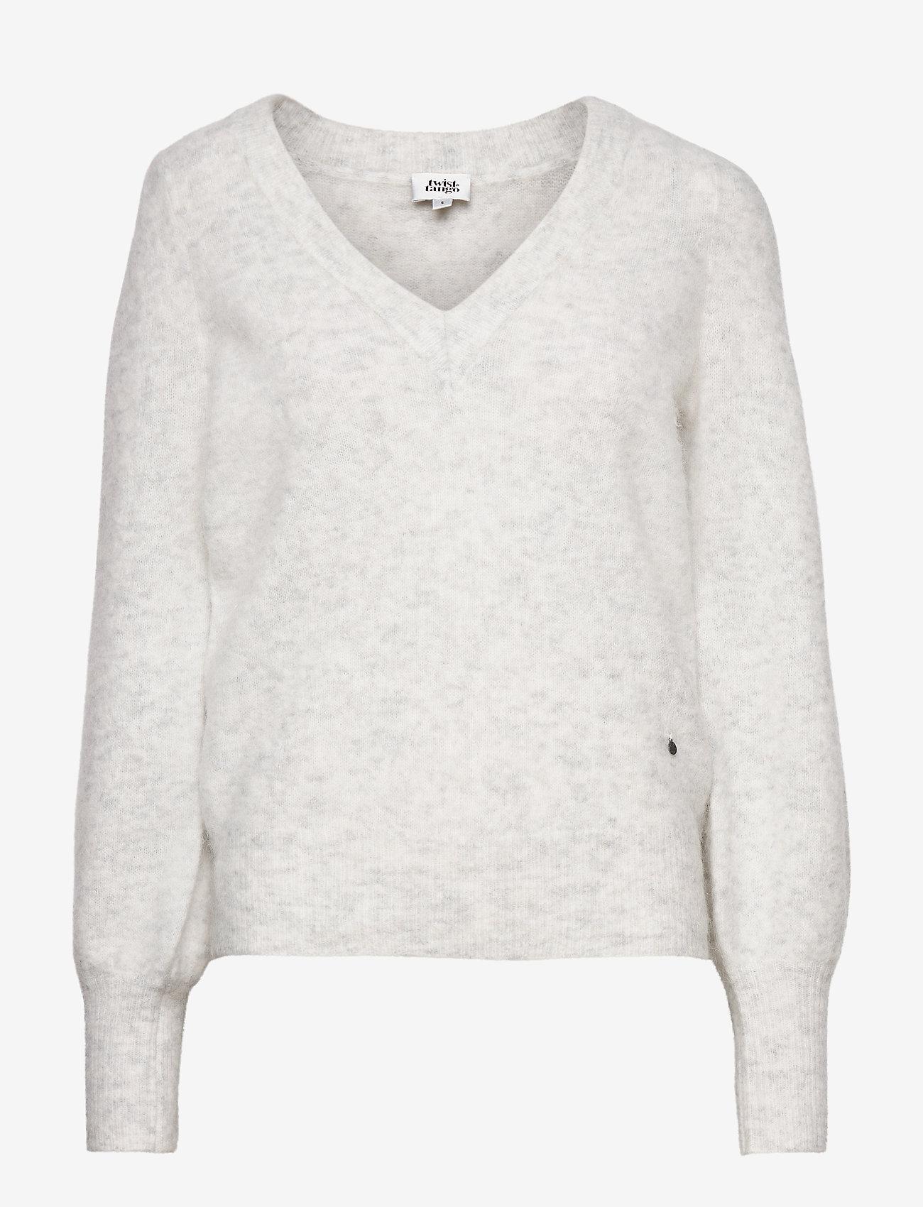 Twist & Tango - Valeria Sweater - tröjor - lt grey - 0