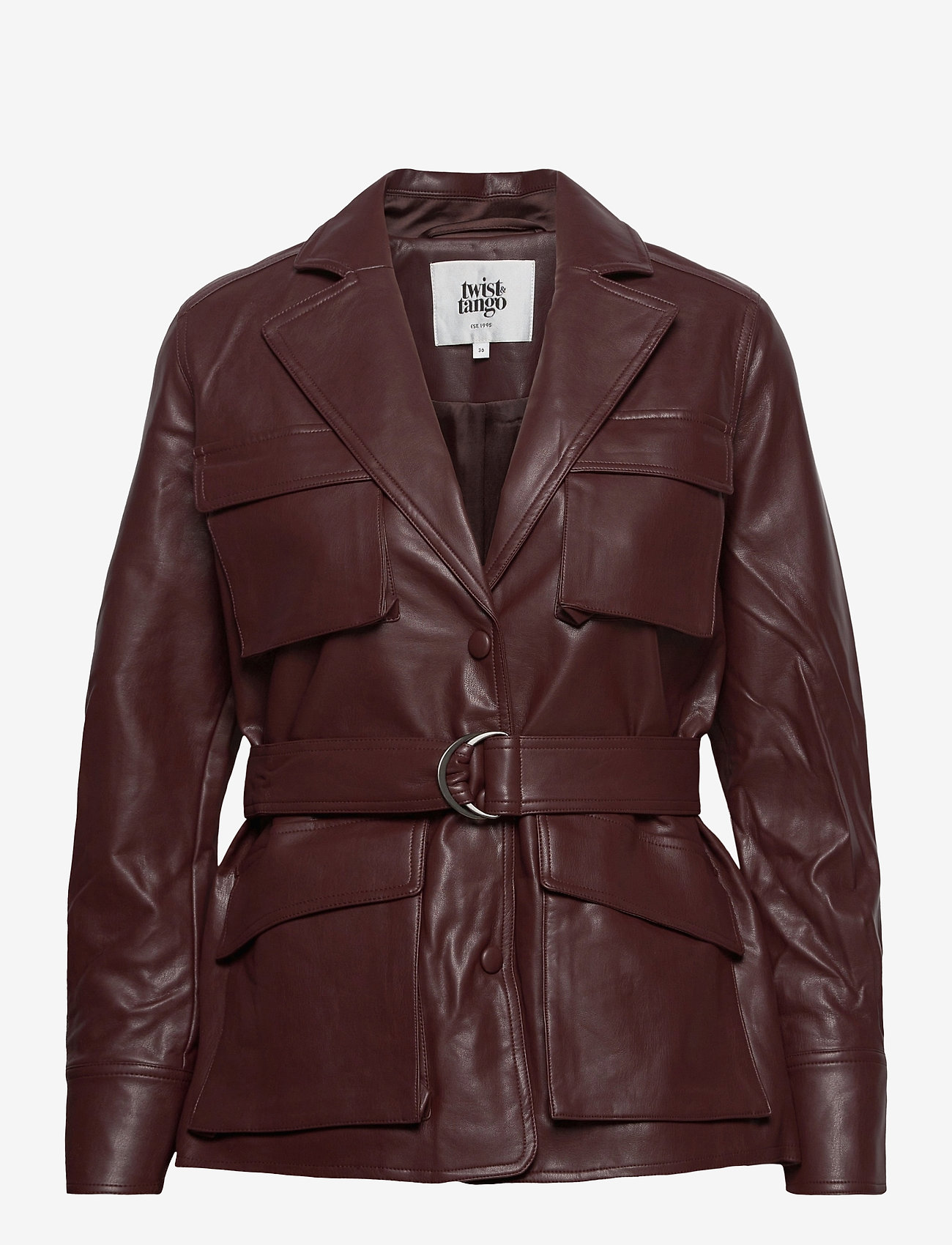 Twist & Tango - Cecilia Jacket - skinnjackor - reddish brown - 0