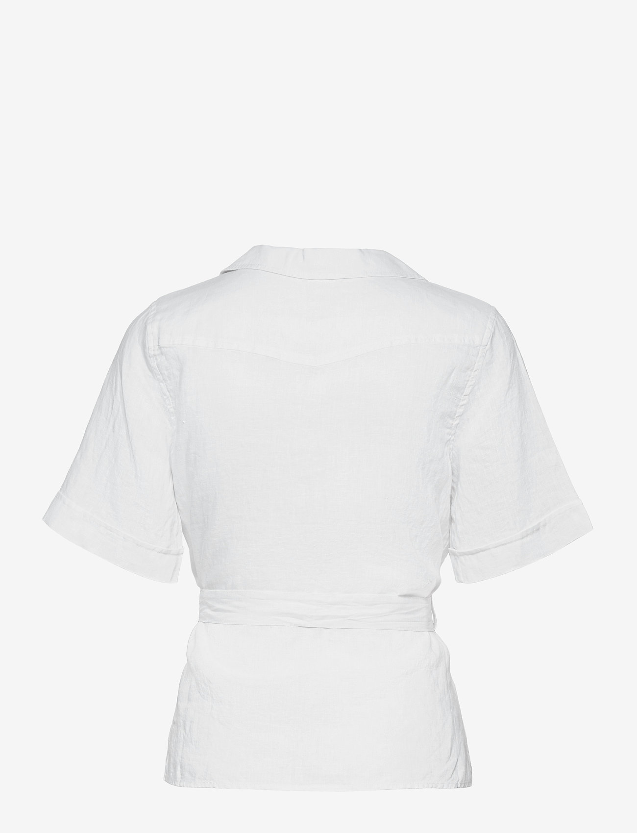 Twist & Tango - Ashley Shirt - kortärmade skjortor - white - 1