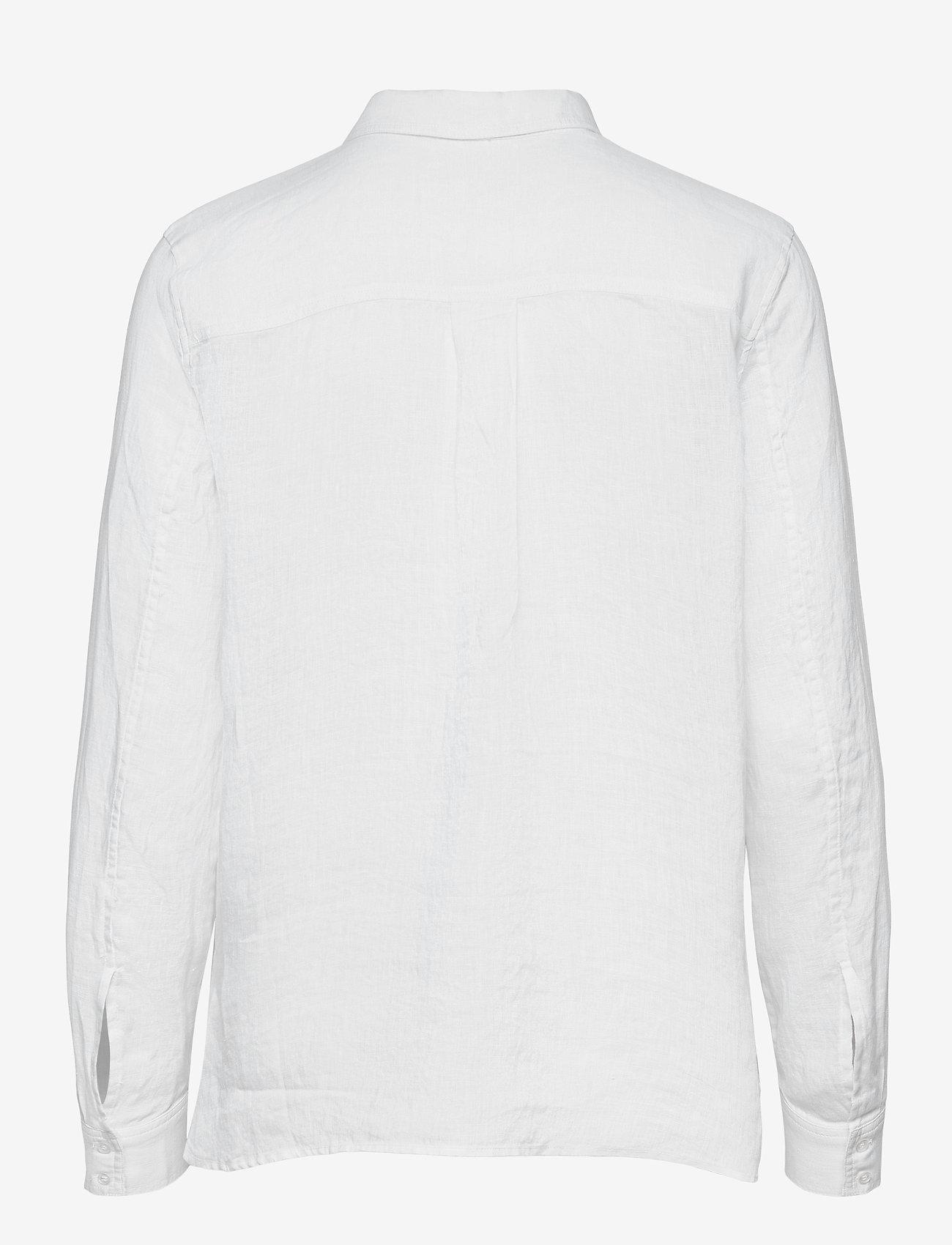 Twist & Tango - Claudia Shirt - långärmade skjortor - white - 1
