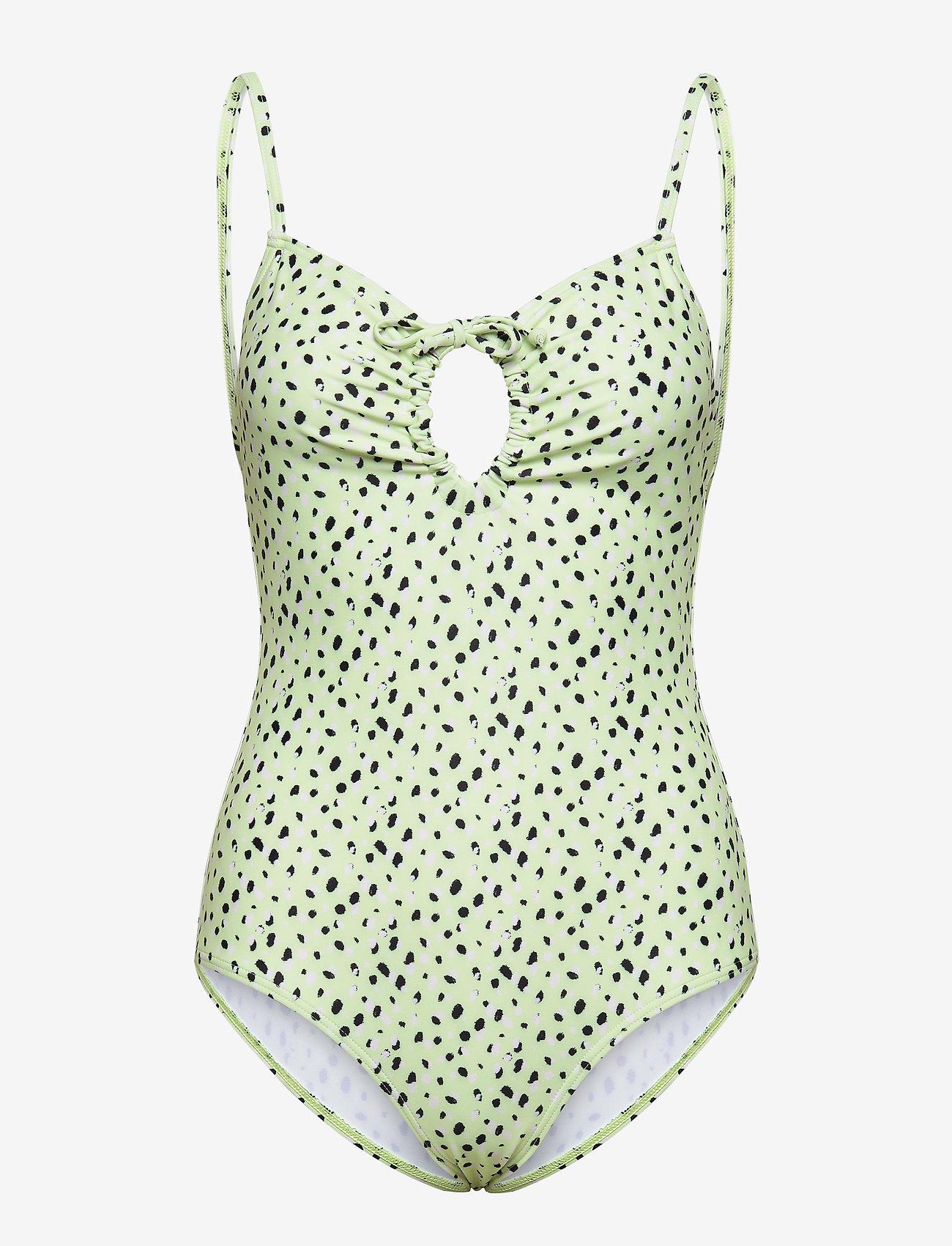 Twist & Tango - Honolulu Swimwear - baddräkter - spirulina mini dot - 0