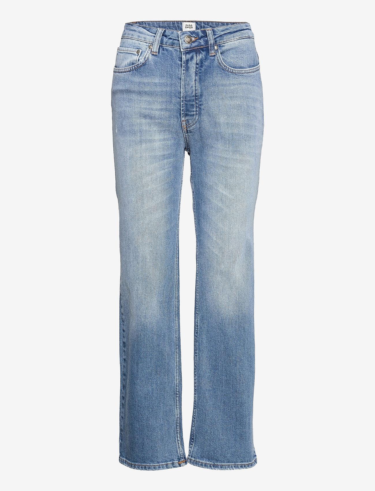 Twist & Tango - Lollo Jeans - straight regular - mid blue wash - 0
