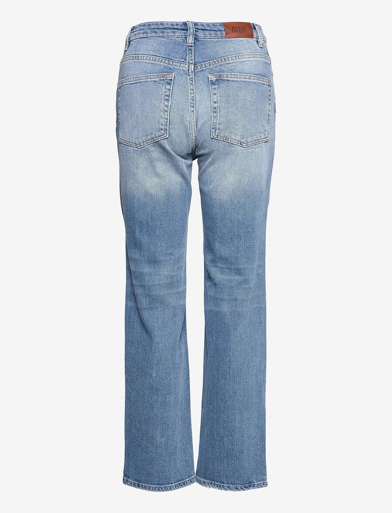 Twist & Tango - Lollo Jeans - straight regular - mid blue wash - 1