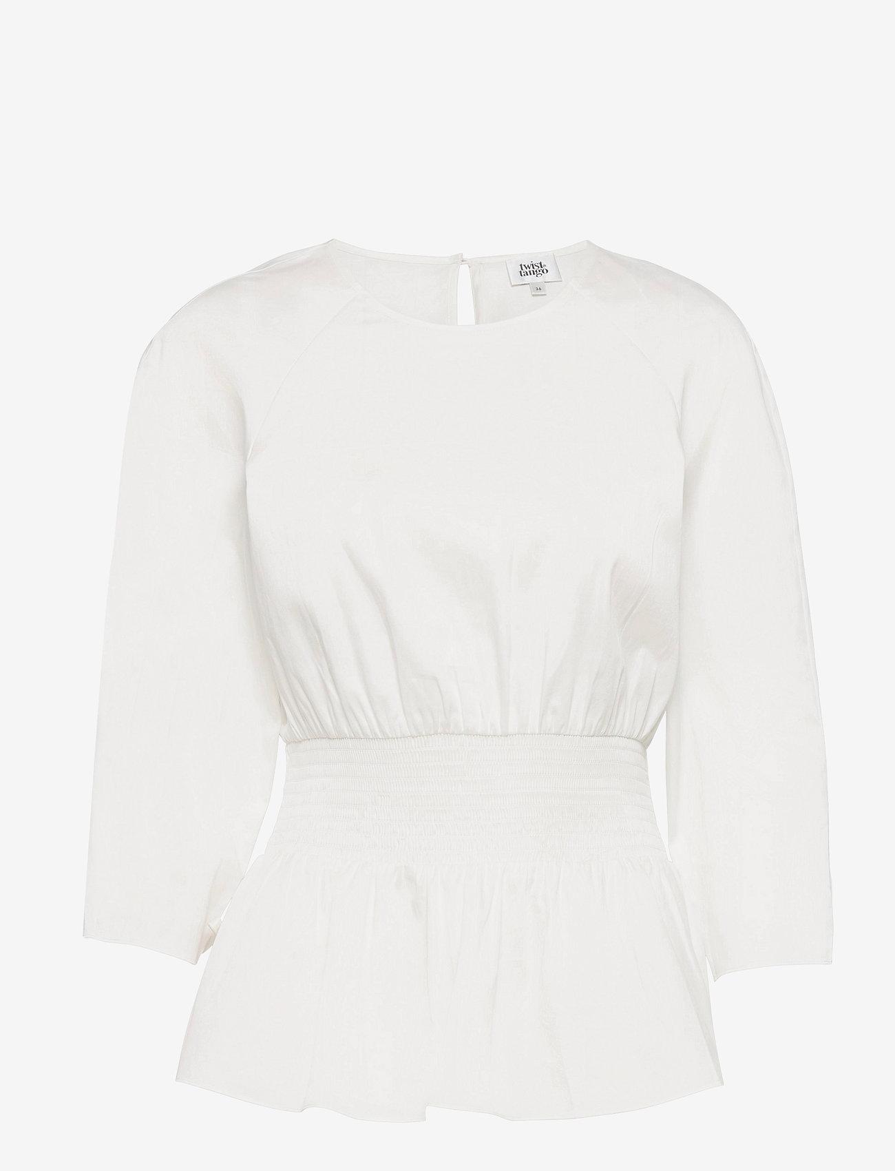 Twist & Tango - Lucille Blouse - långärmade blusar - white - 0