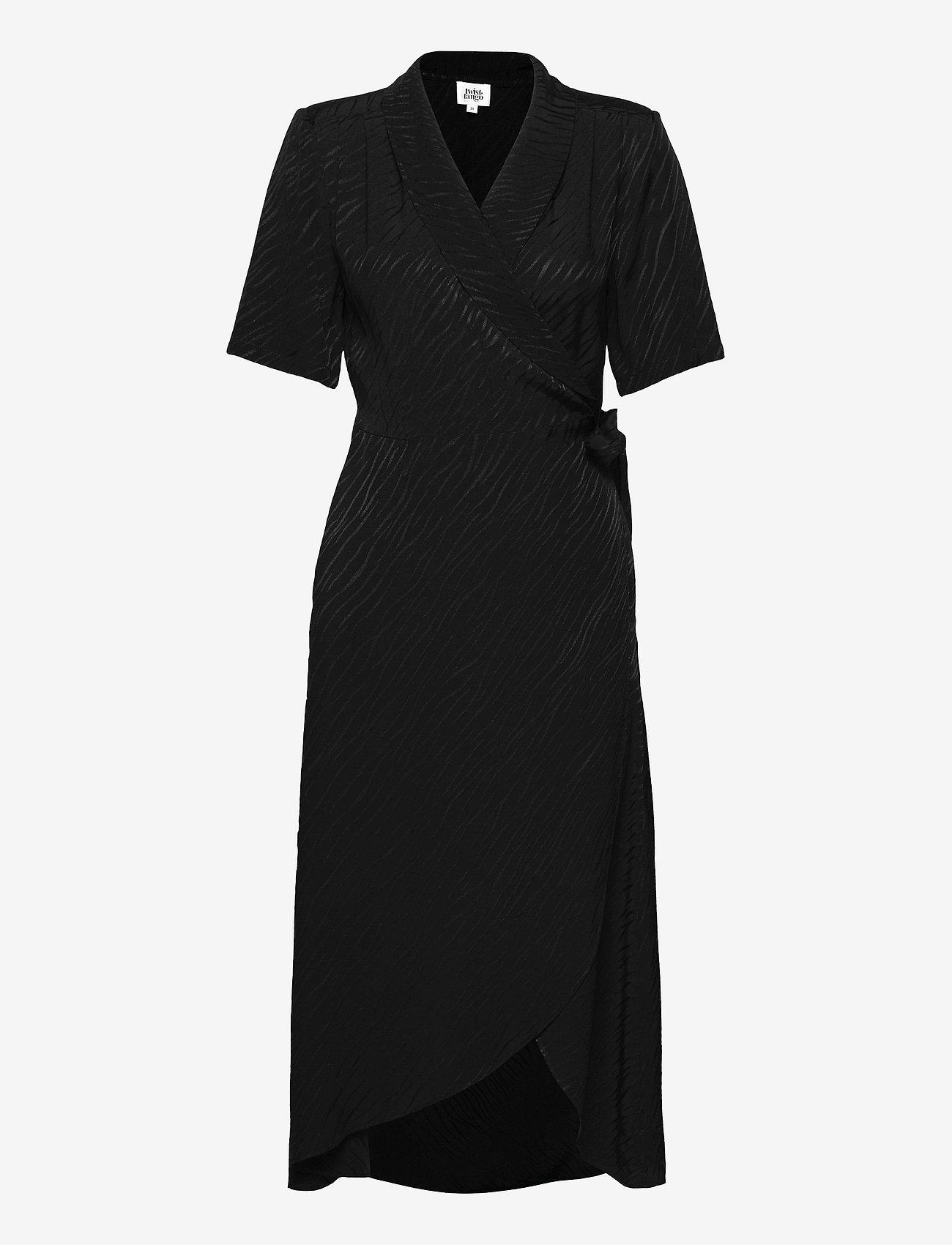 Twist & Tango - Ebba Dress - wrap dresses - black - 0