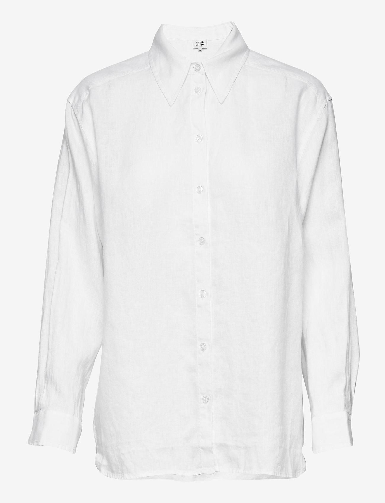 Twist & Tango - Kelly Shirt - långärmade skjortor - white - 0