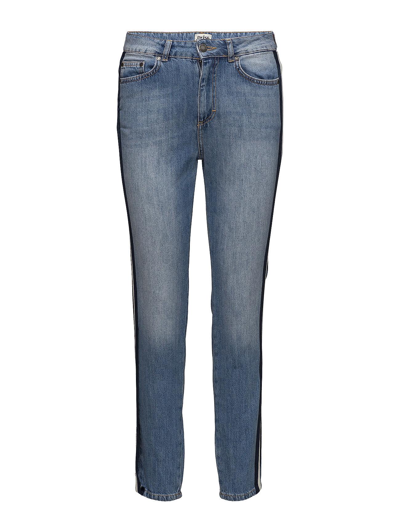 Twist & Tango Sarah Jeans - MID BLUE STRIPE
