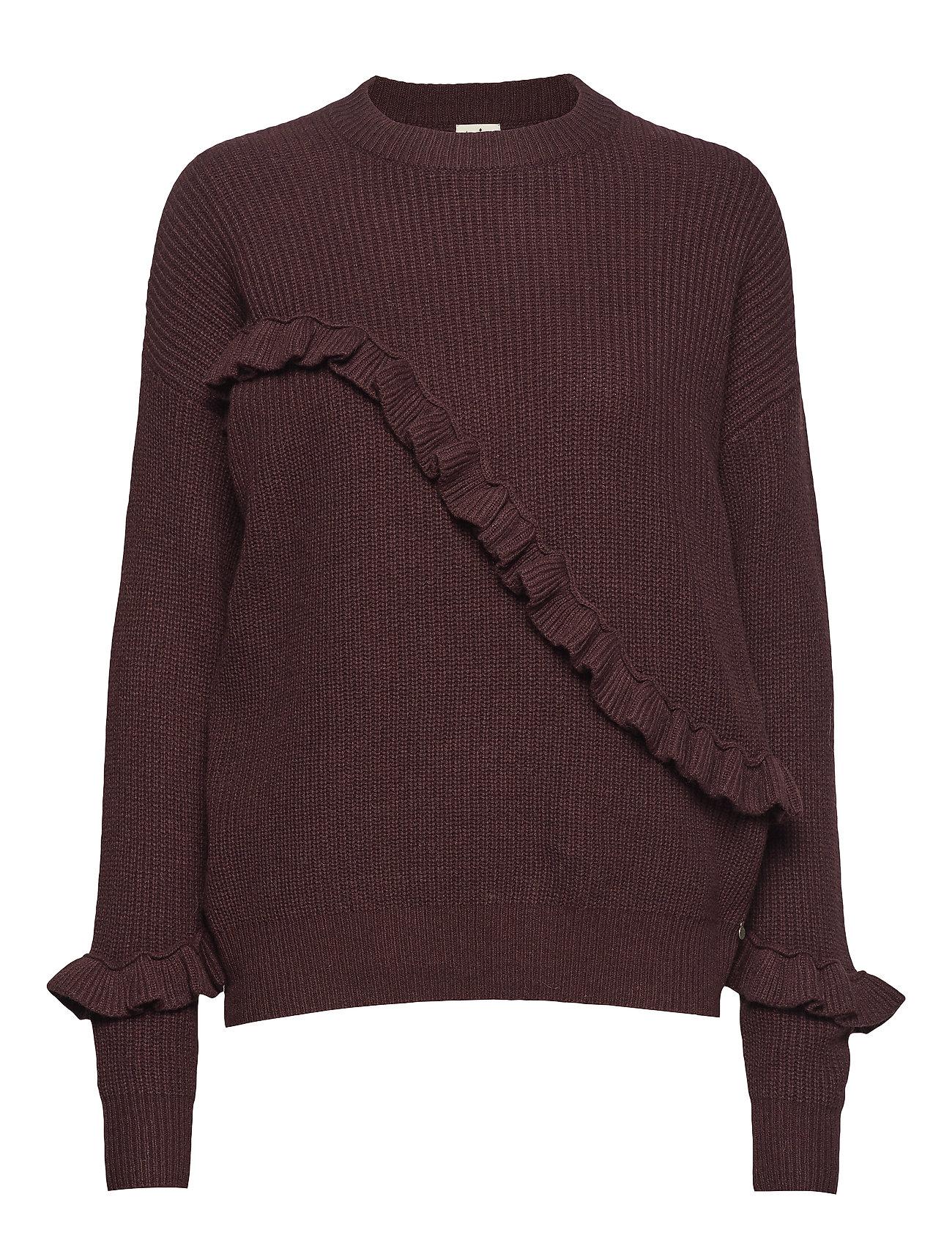 Twist & Tango Sonja Frill Sweater - PURPLE
