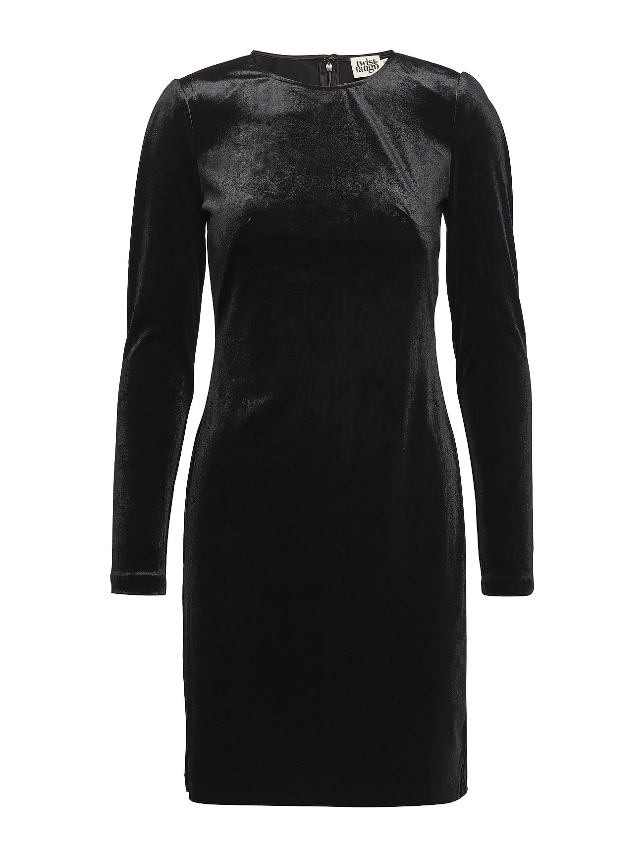 Twist & Tango Ellie Velvet Dress - BLACK