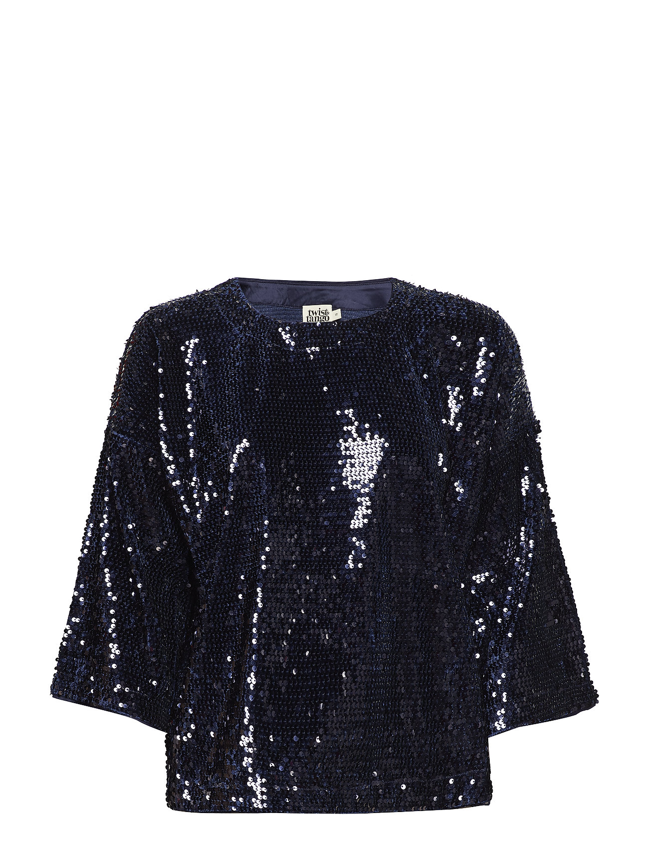 Twist & Tango Unni Sequin Top Navy XS - NAVY