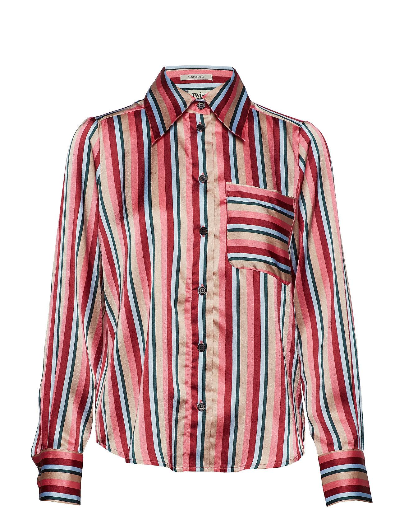a86bbde9 Nathalie Shirt Pink Stripe (Pink Stripe) (779.35 kr) - Twist & Tango ...