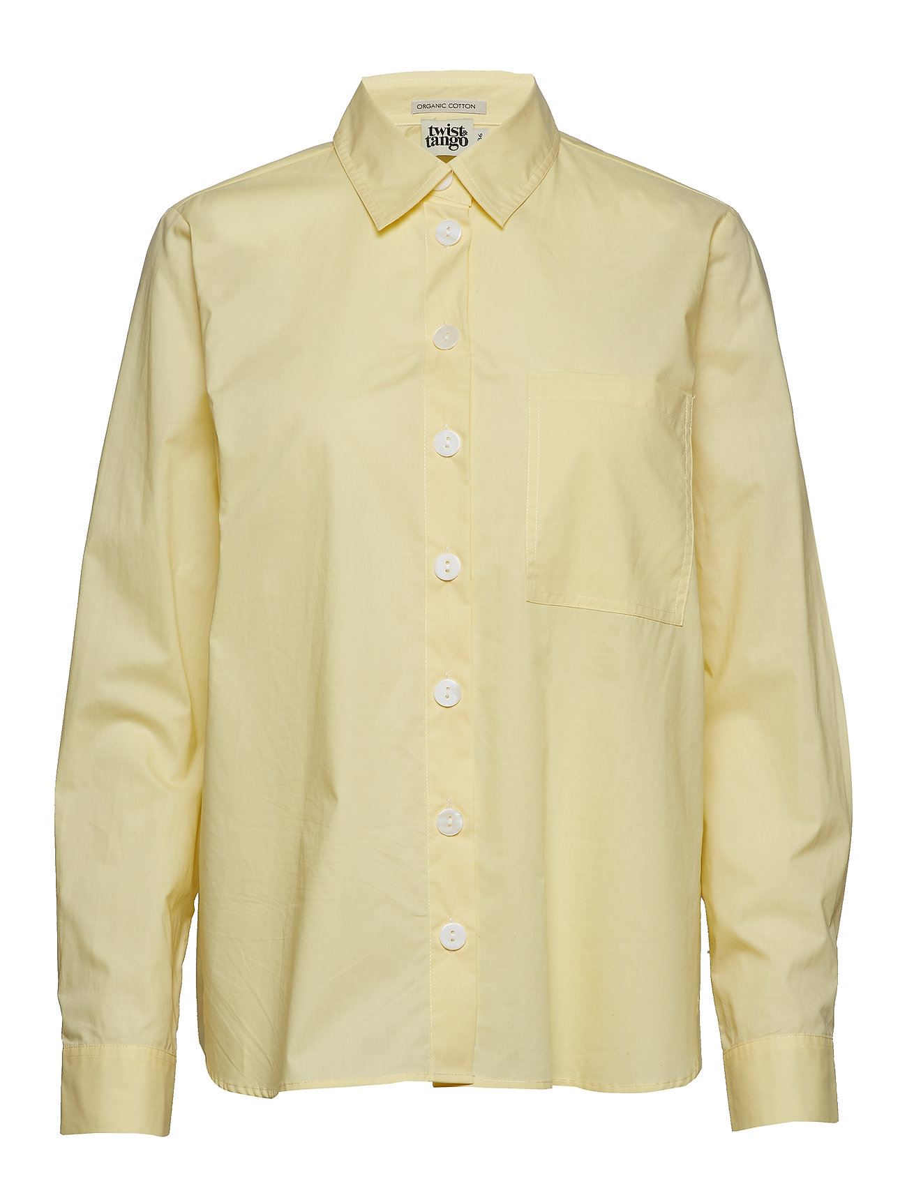 Twist & Tango Dani Shirt Cream Yellow - CREAM YELLOW