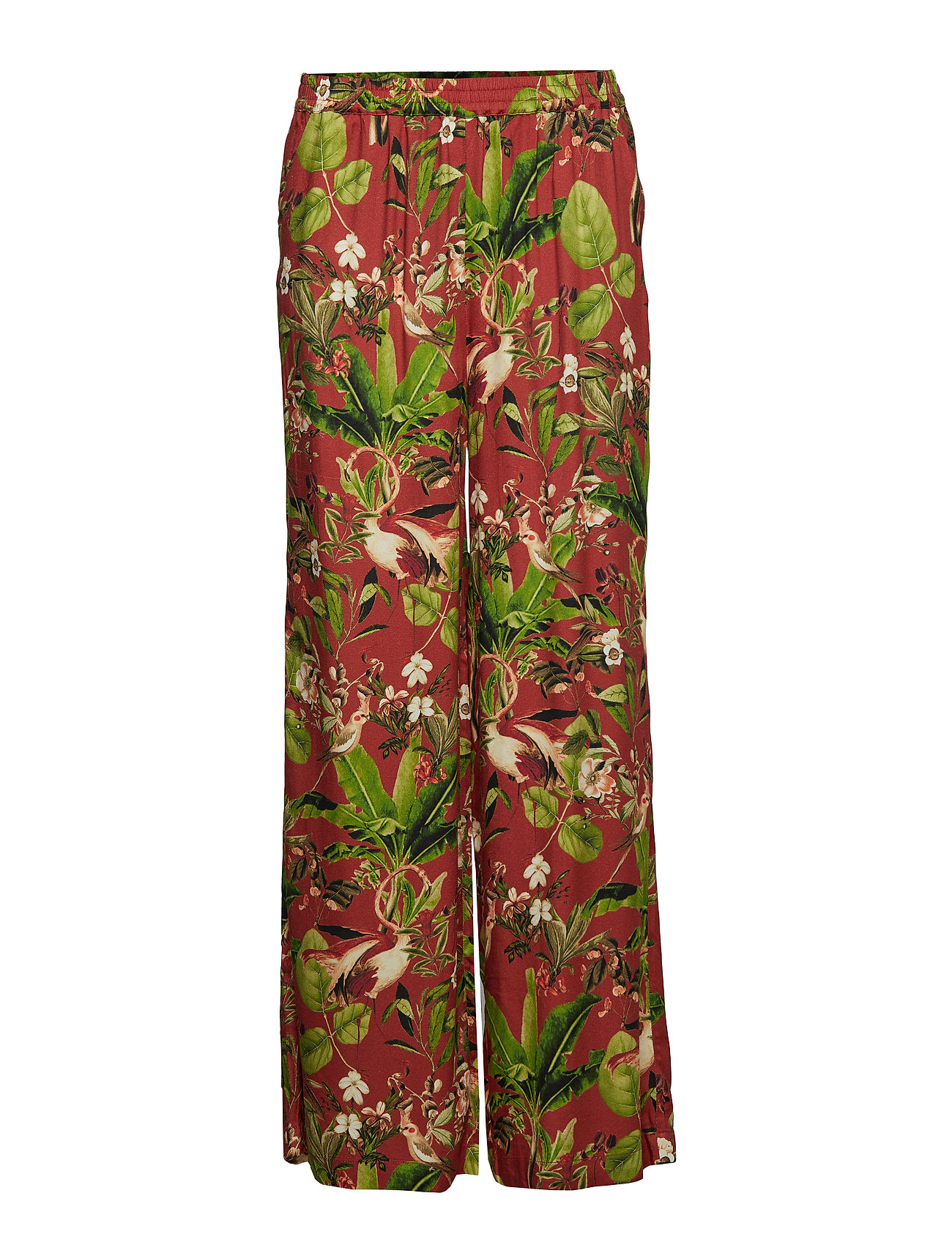 Twist & Tango Philippa Trousers - BRICK FLAMINGO
