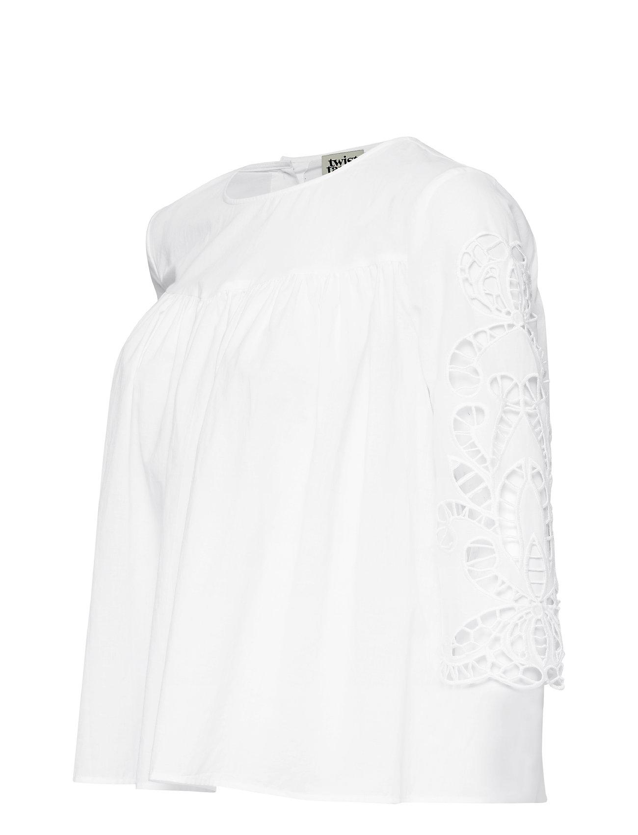 Twist & Tango    Flora Blouse  - Blusen & Hemden    WHITE