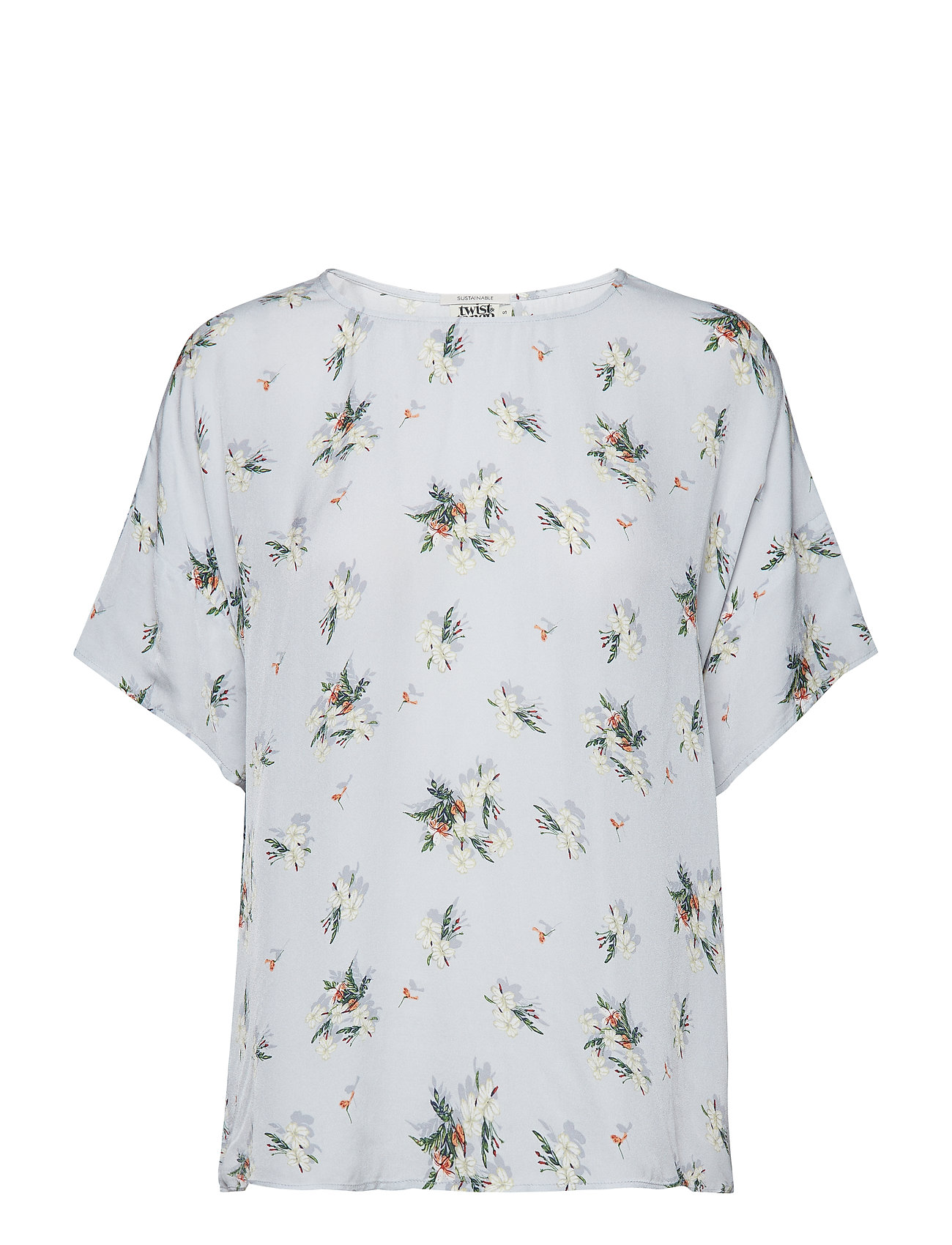 Twist & Tango Tea Blouse - DUST FLOWER