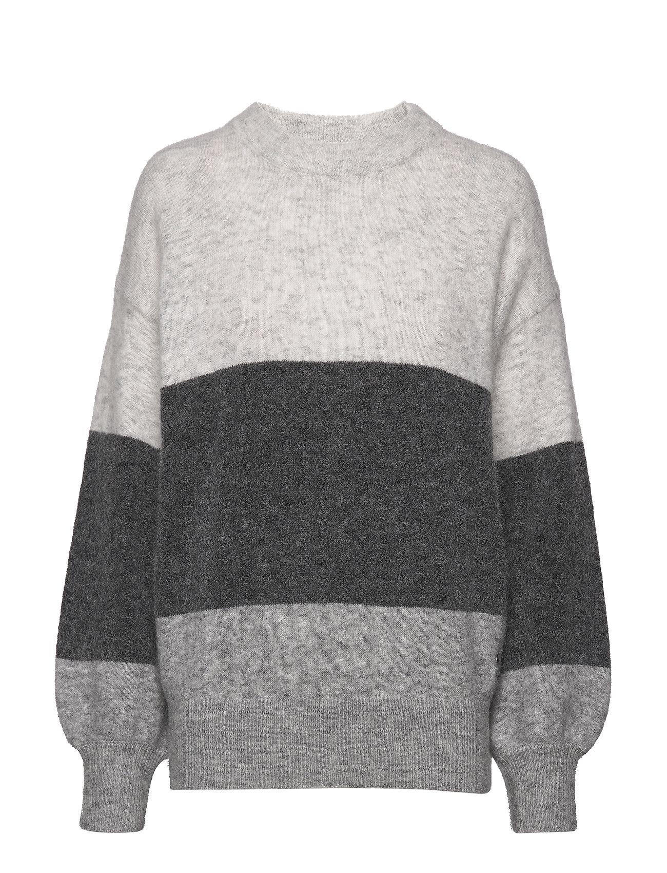 Twist & Tango Zina Sweater - GREY STRIPE
