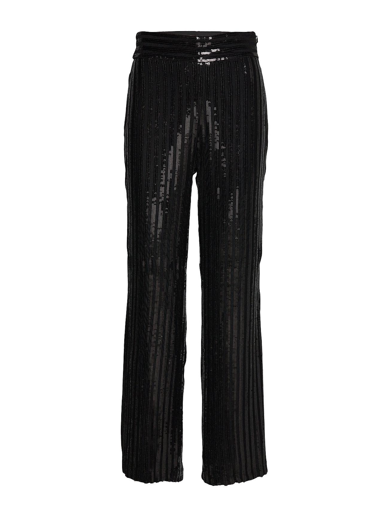 Twist & Tango Judi Sequin Trousers - BLACK