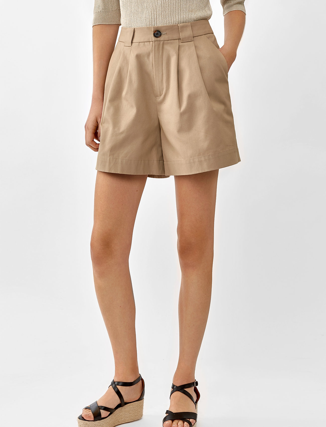 Twist & Tango - Neah Shorts - casual shorts - beige - 0