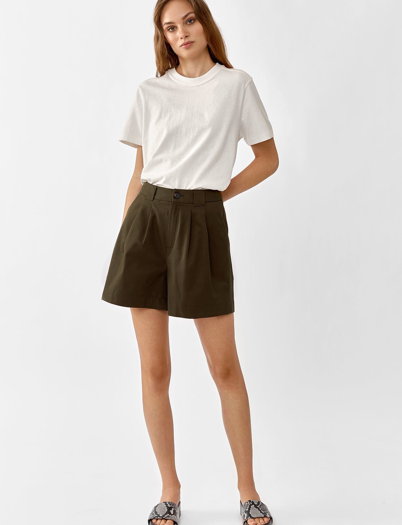 Twist & Tango - Neah Shorts - casual shorts - dark khaki - 0