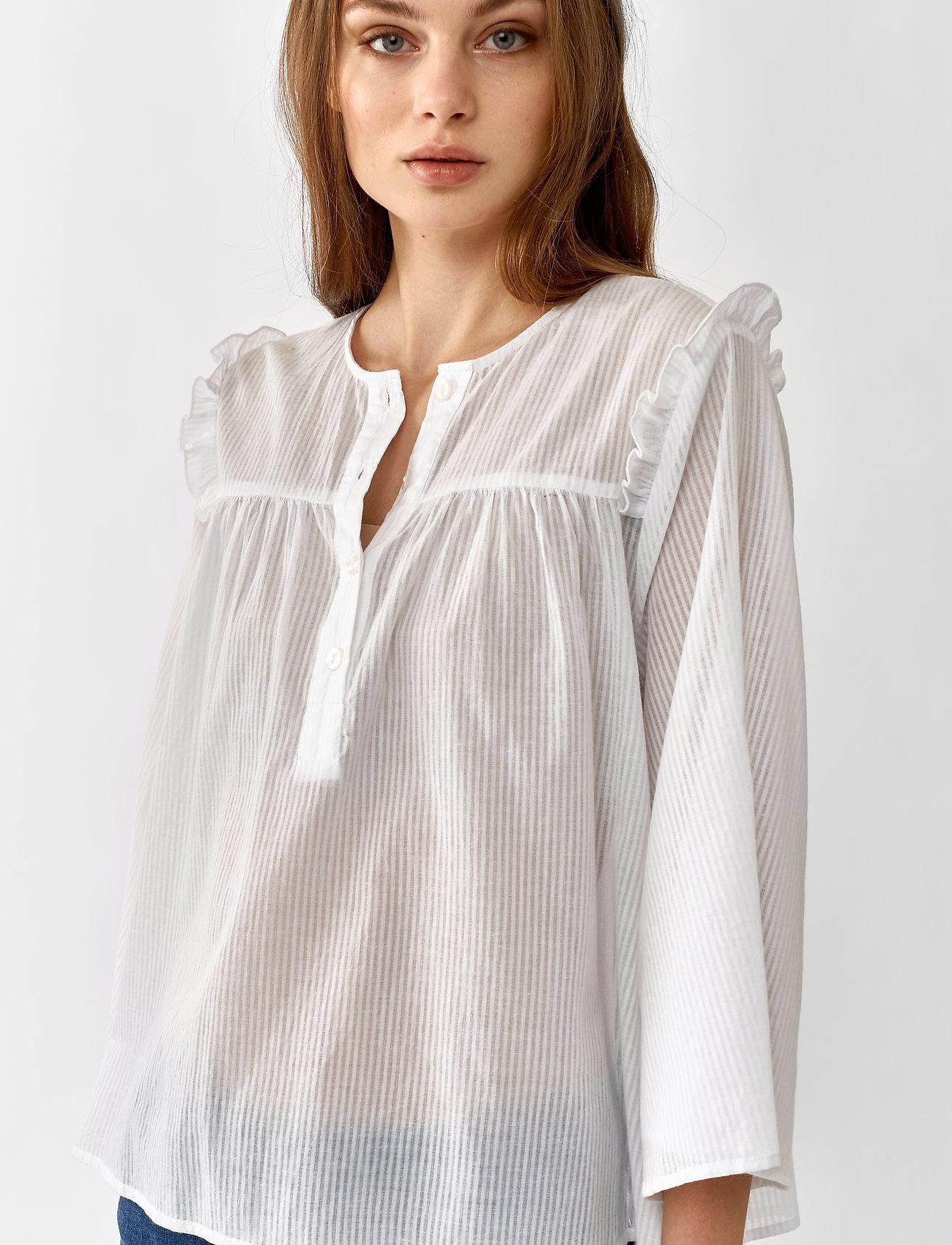Twist & Tango Kristin Blouse - Bluzki & Koszule WHITE - Kobiety Odzież.