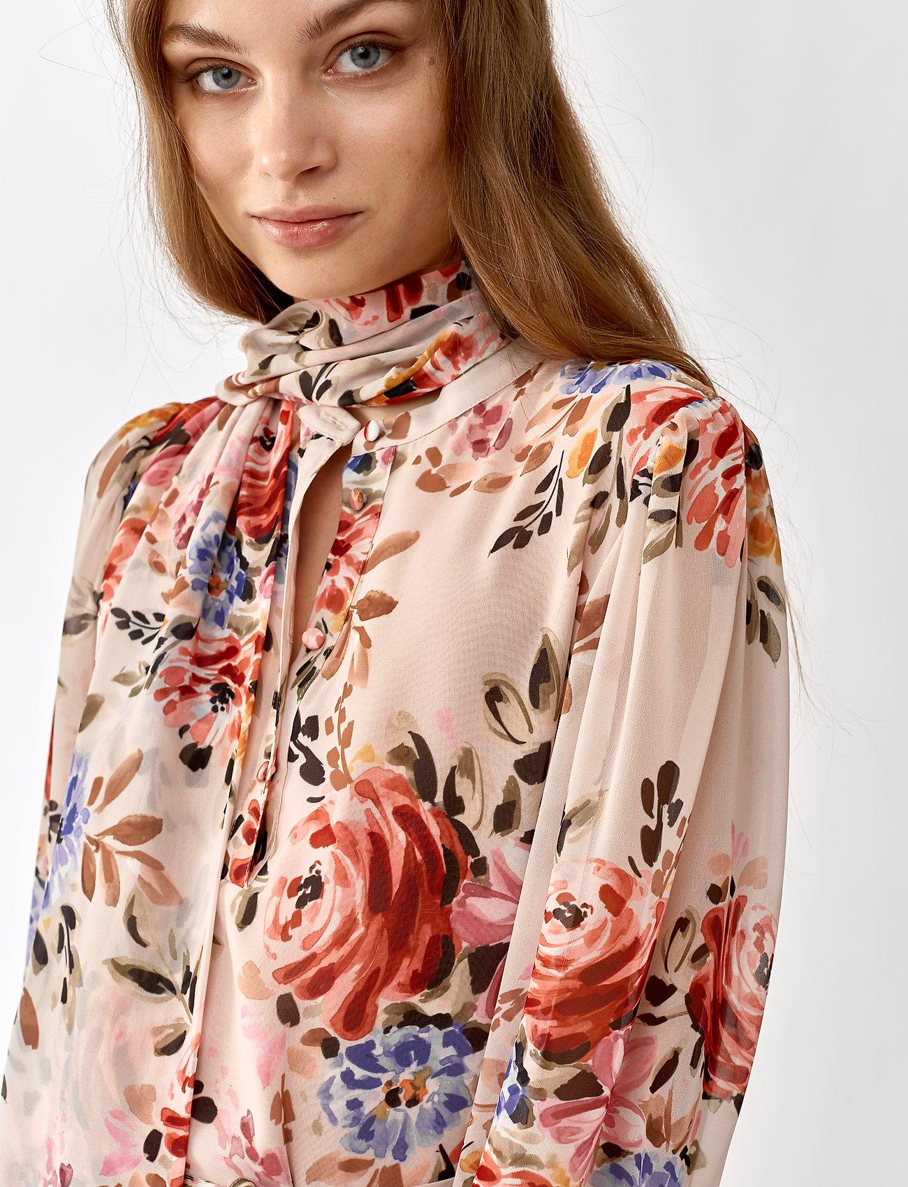 Twist & Tango Liv Dress - Sukienki PINK FLOWER - Kobiety Odzież.