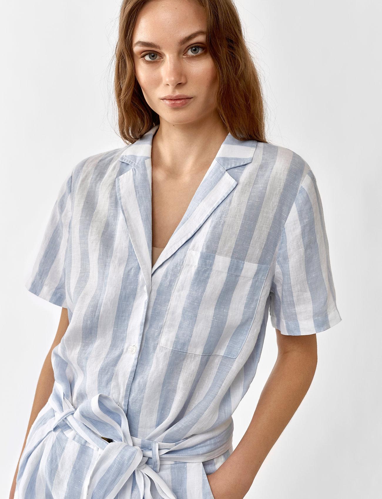 Twist & Tango - Brooke Shirt - chemises à manches courtes - light blue - 0
