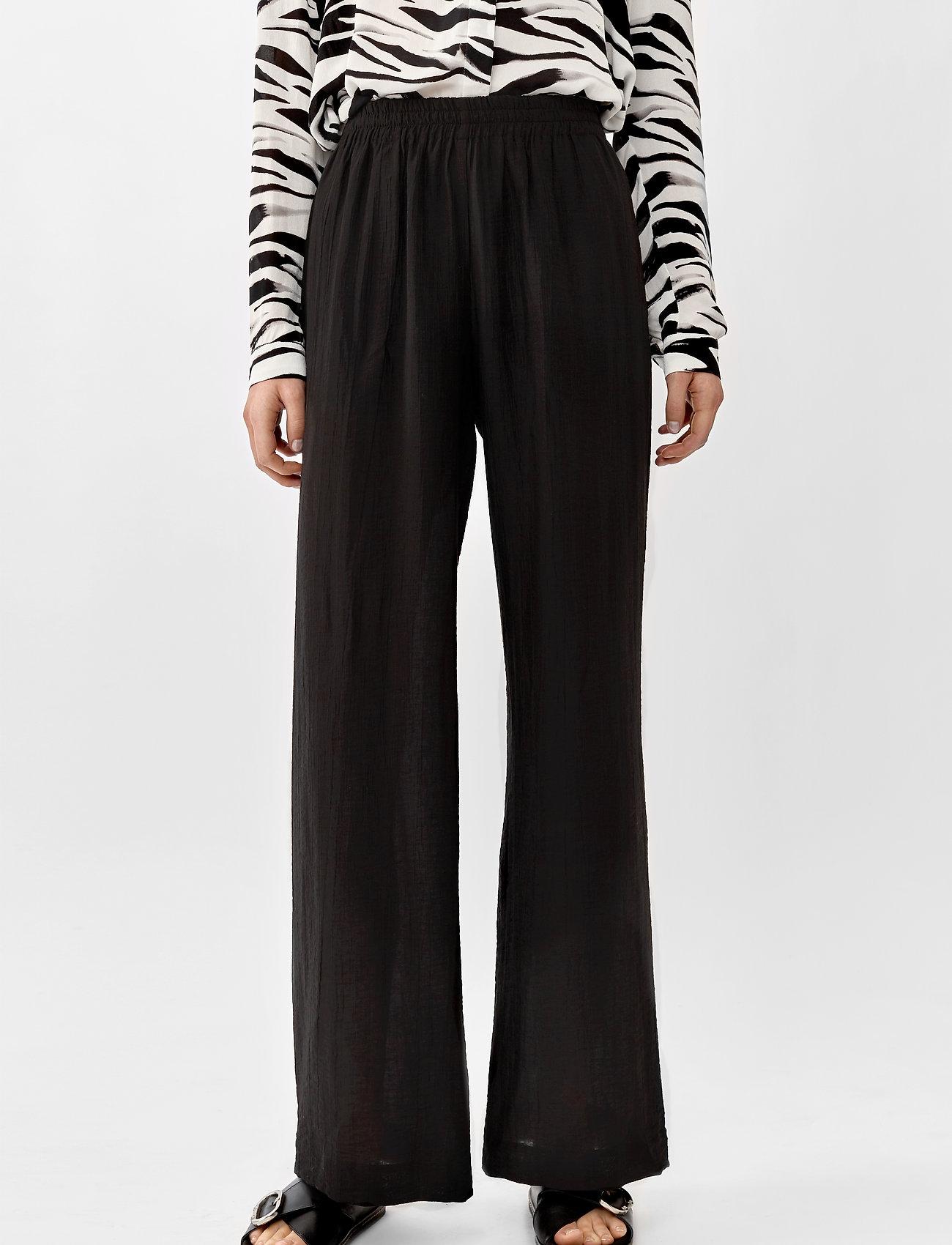 Twist & Tango - Franny Trousers - bukser med brede ben - black - 0