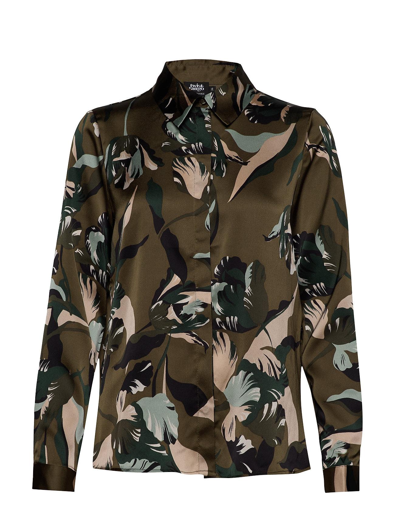 Twist & Tango Boozt Penelope Shirt - GREEN TULIP