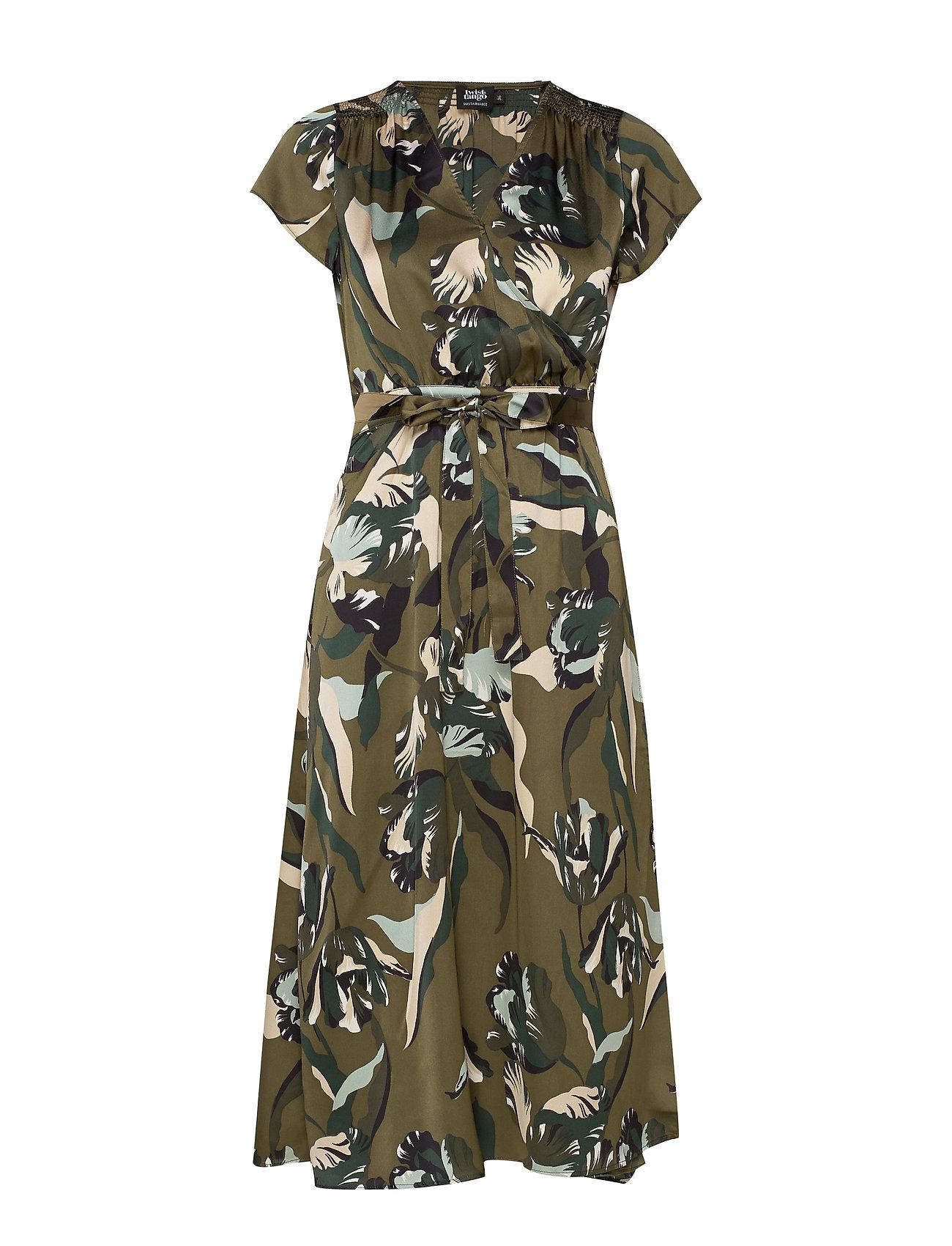 Twist & Tango Boozt Gloria Dress - GREEN TULIP