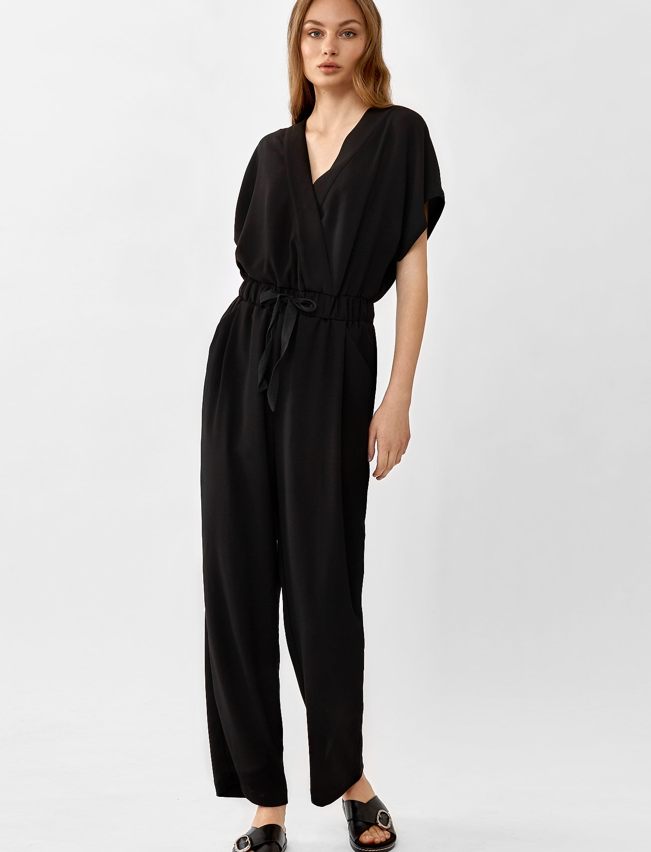 Twist & Tango - Minna Long Jumpsuit - jumpsuits - black - 0