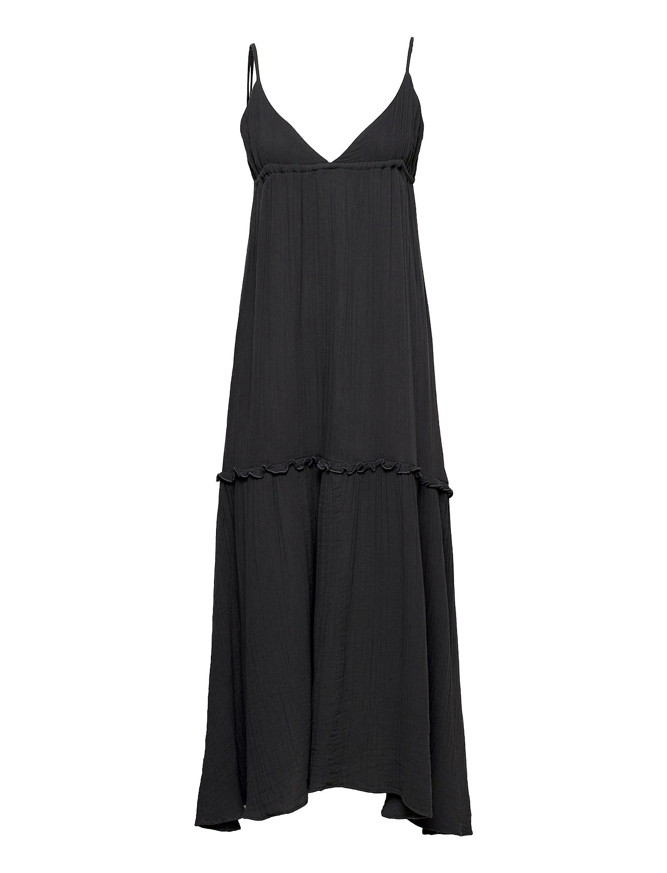 Mitzi Dress Maxikjole Festkjole Sort Twist & Tango